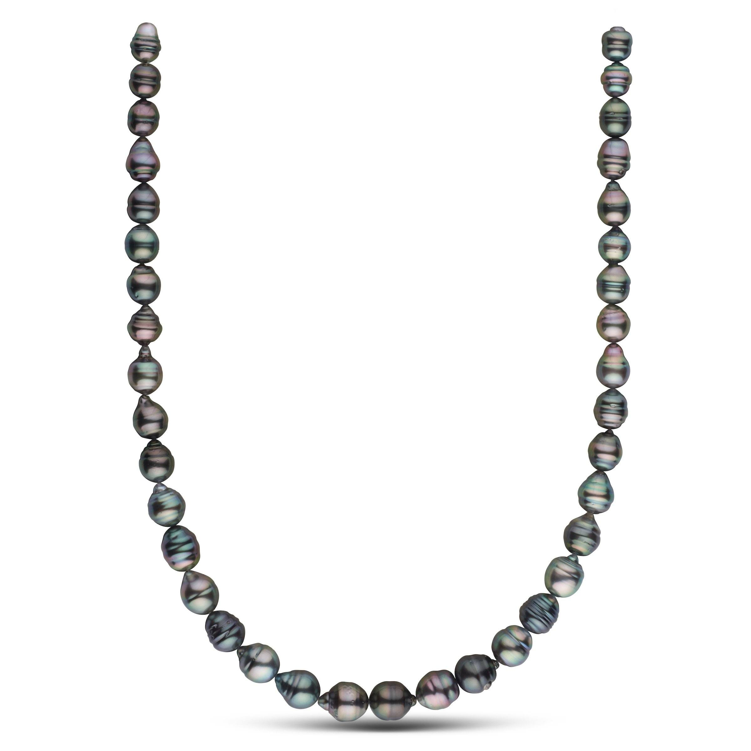 8.0-10.2 mm AA+/AAA Tahitian Baroque Pearl Necklace