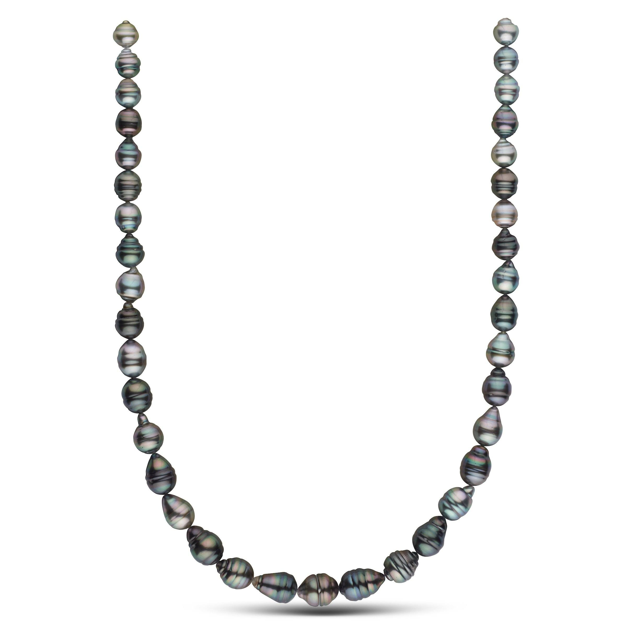 8.4-10.5 mm AA+/AAA Tahitian Baroque Pearl Necklace
