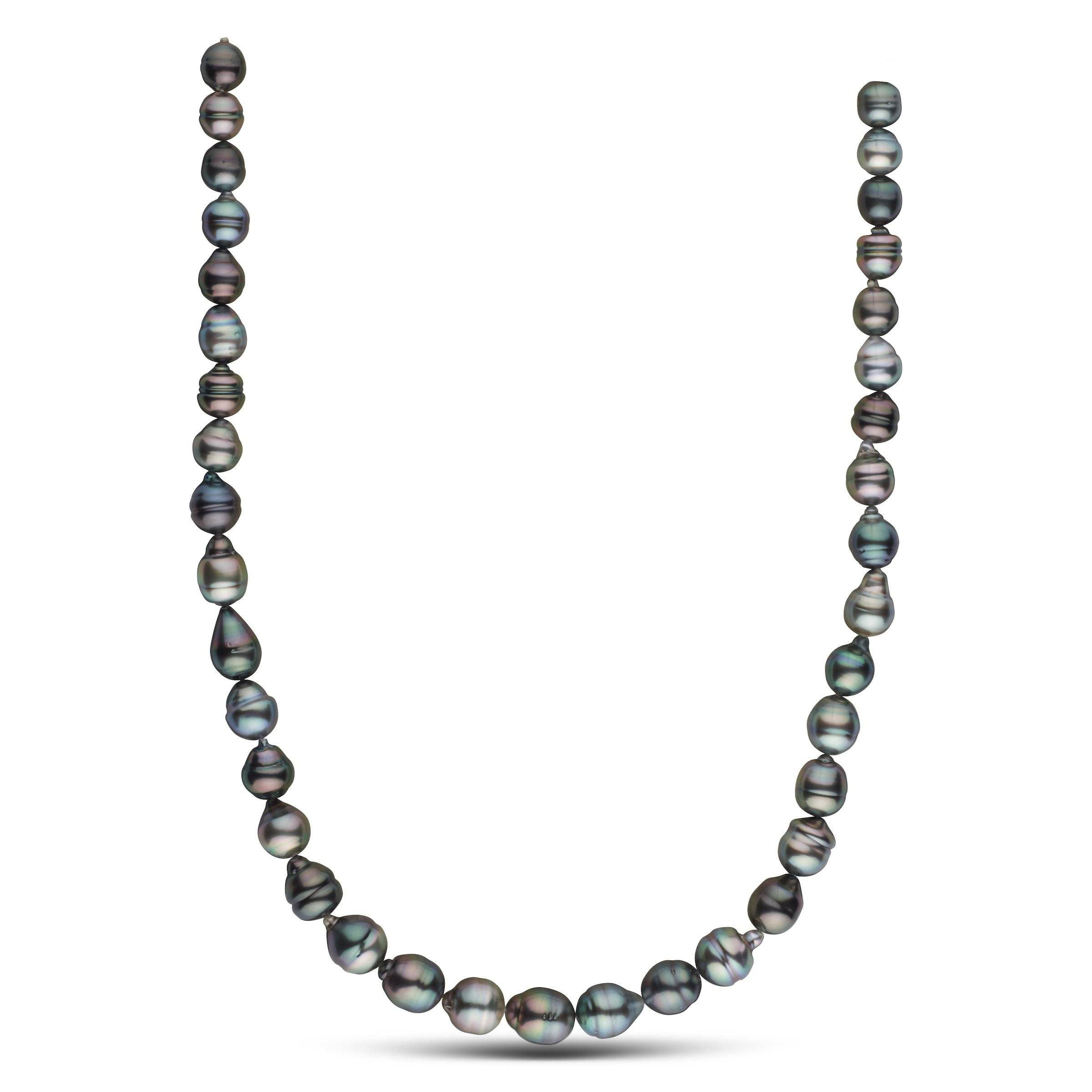 8.2-10.3 mm AAA Tahitian Baroque Pearl Necklace