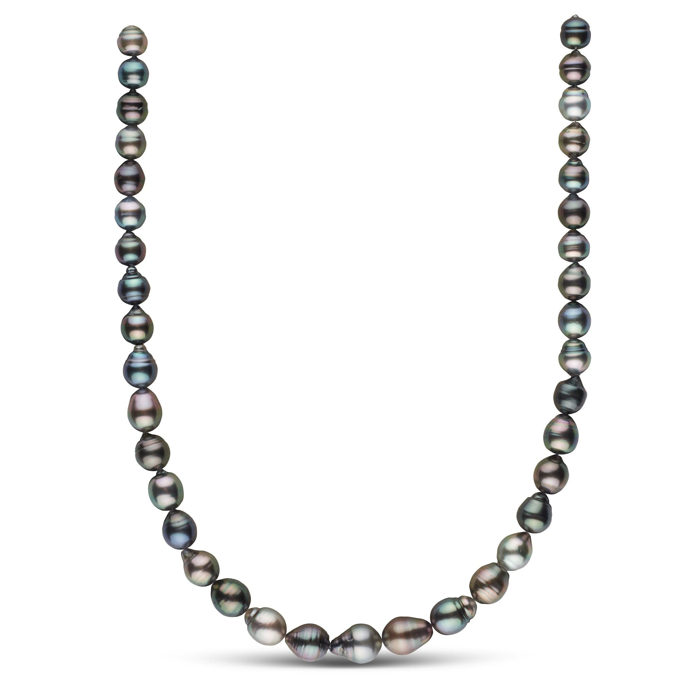 8.4-10.9 mm AAA Tahitian Baroque Pearl Necklace