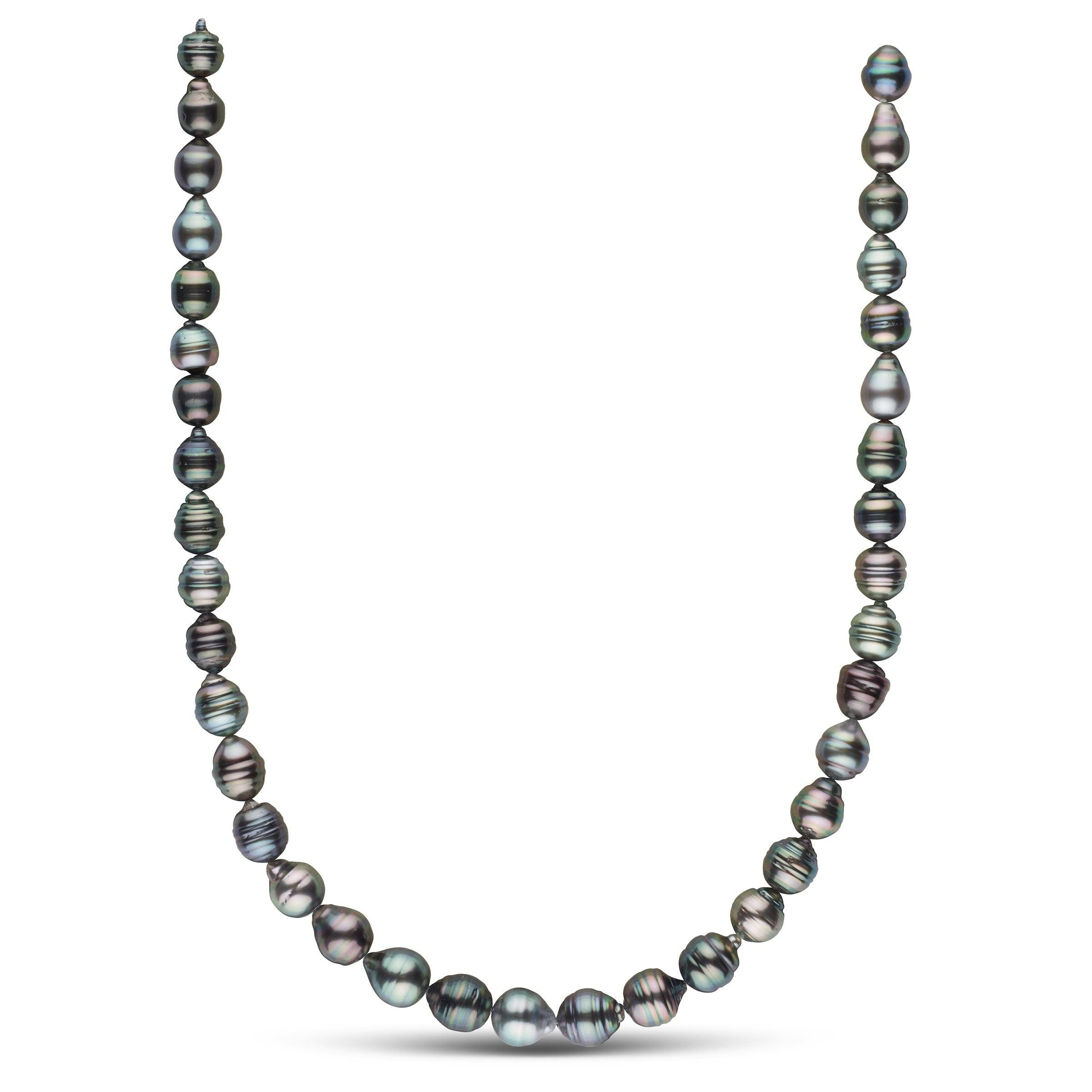 8.3-10.4 mm AA+ Tahitian Baroque Pearl Necklace