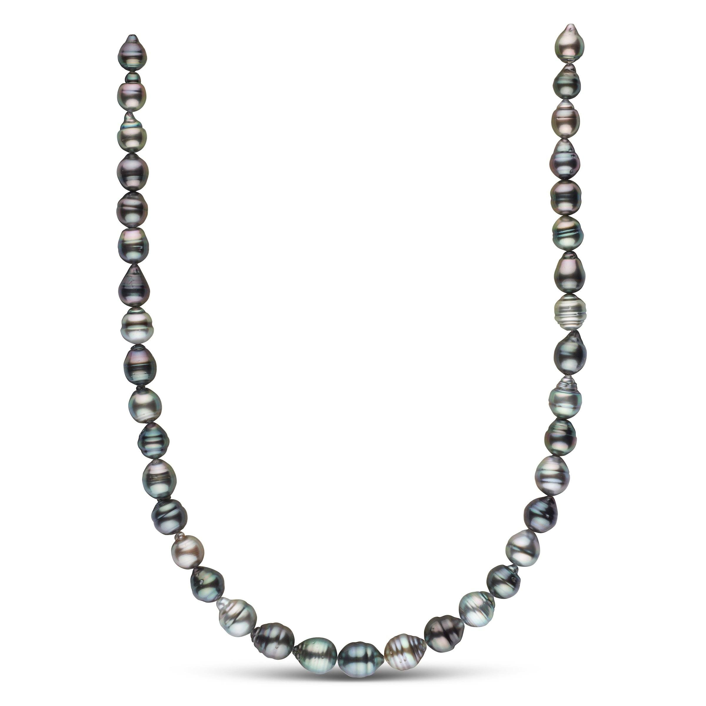 8.2-10.2 mm AA+/AAA Tahitian Baroque Pearl Necklace