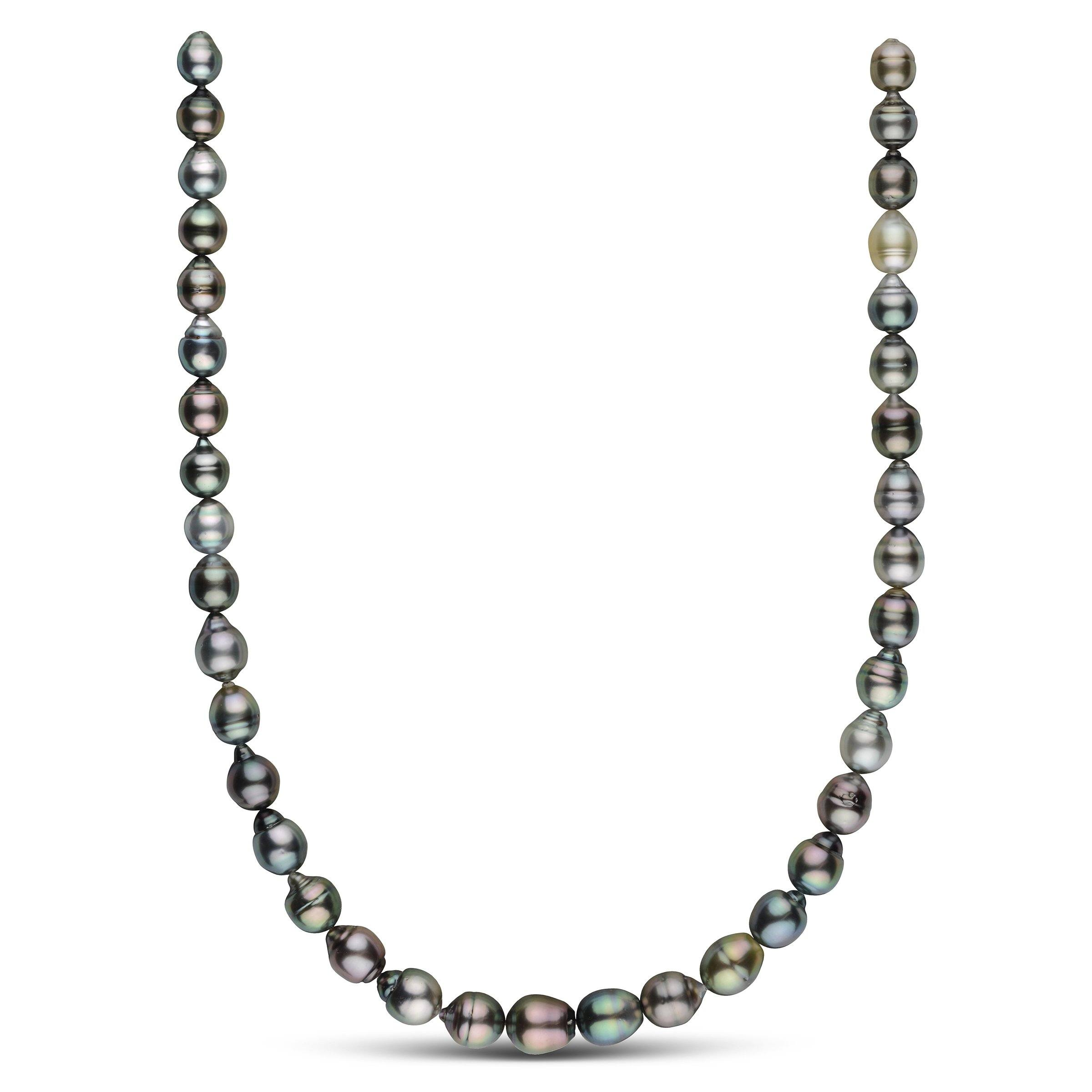 8.0-10.5 mm AAA Tahitian Baroque Pearl Necklace