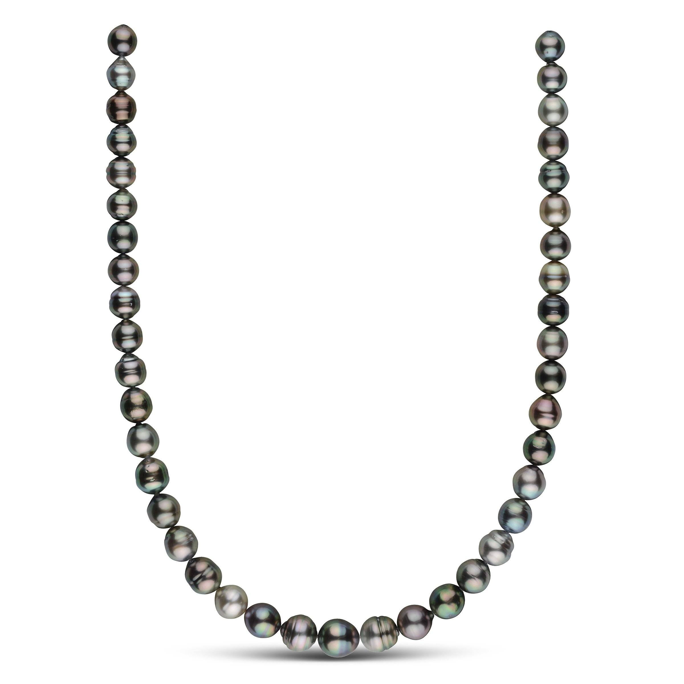 8.4-10.4 mm AA+/AAA Tahitian Baroque Pearl Necklace