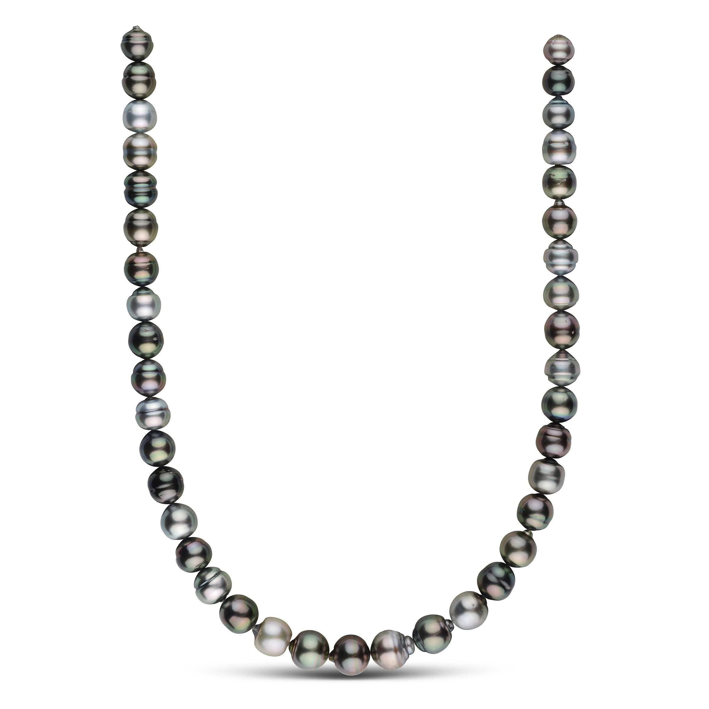 9.0-11.8 mm AA+/AAA Tahitian Baroque Pearl Necklace