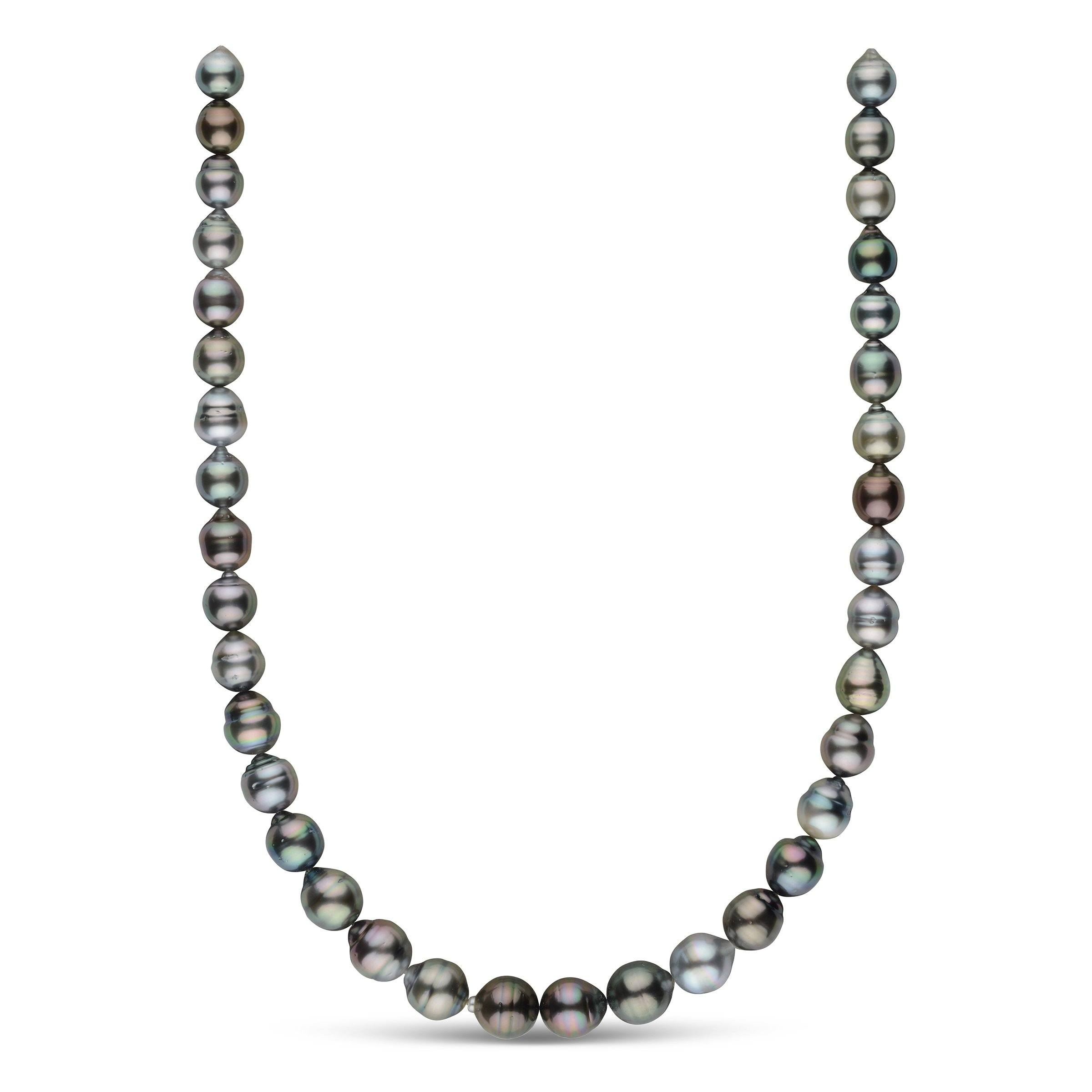 9.0-11.5 mm AA+/AAA Tahitian Baroque Pearl Necklace
