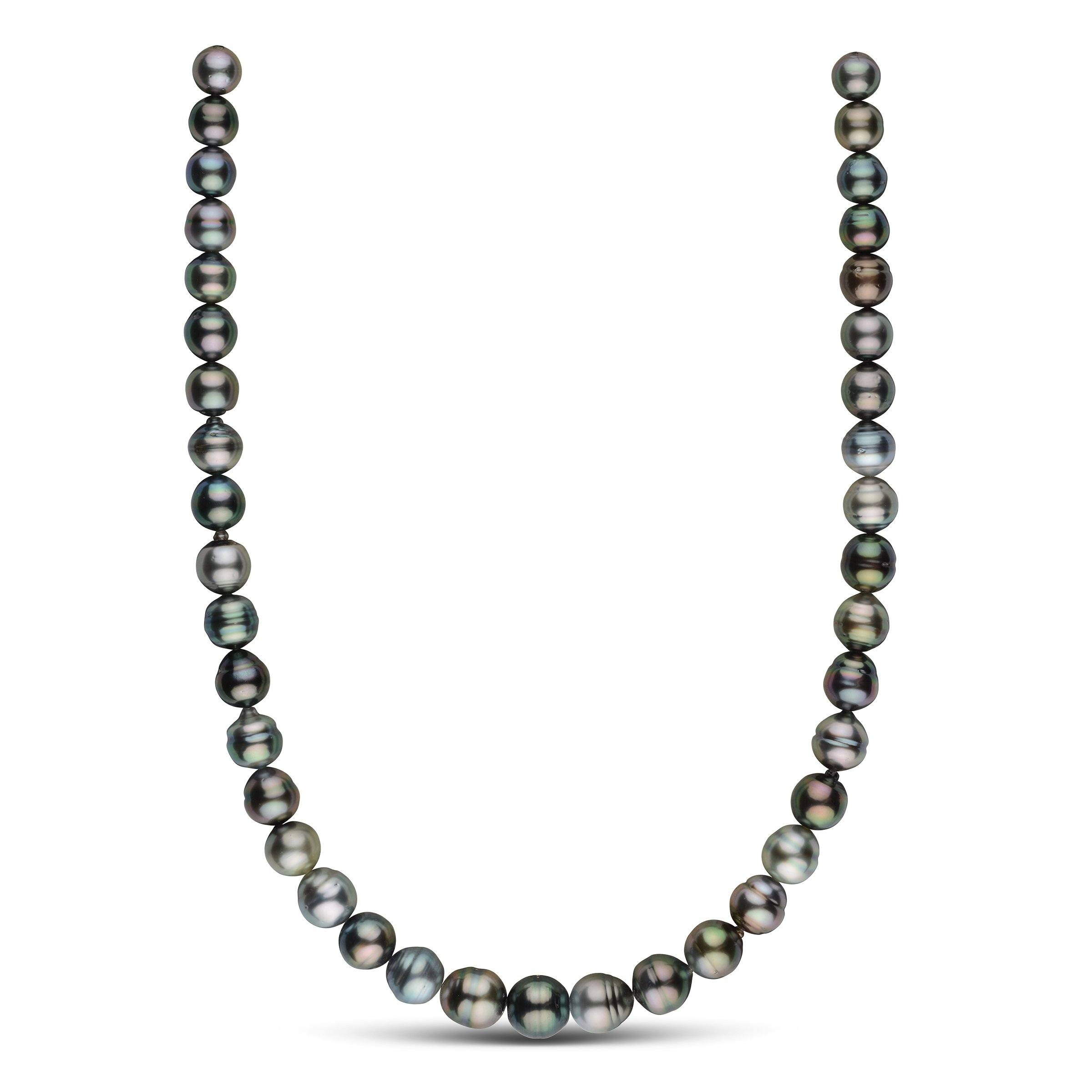 9.0-11.7 mm AA+/AAA Tahitian Baroque Pearl Necklace