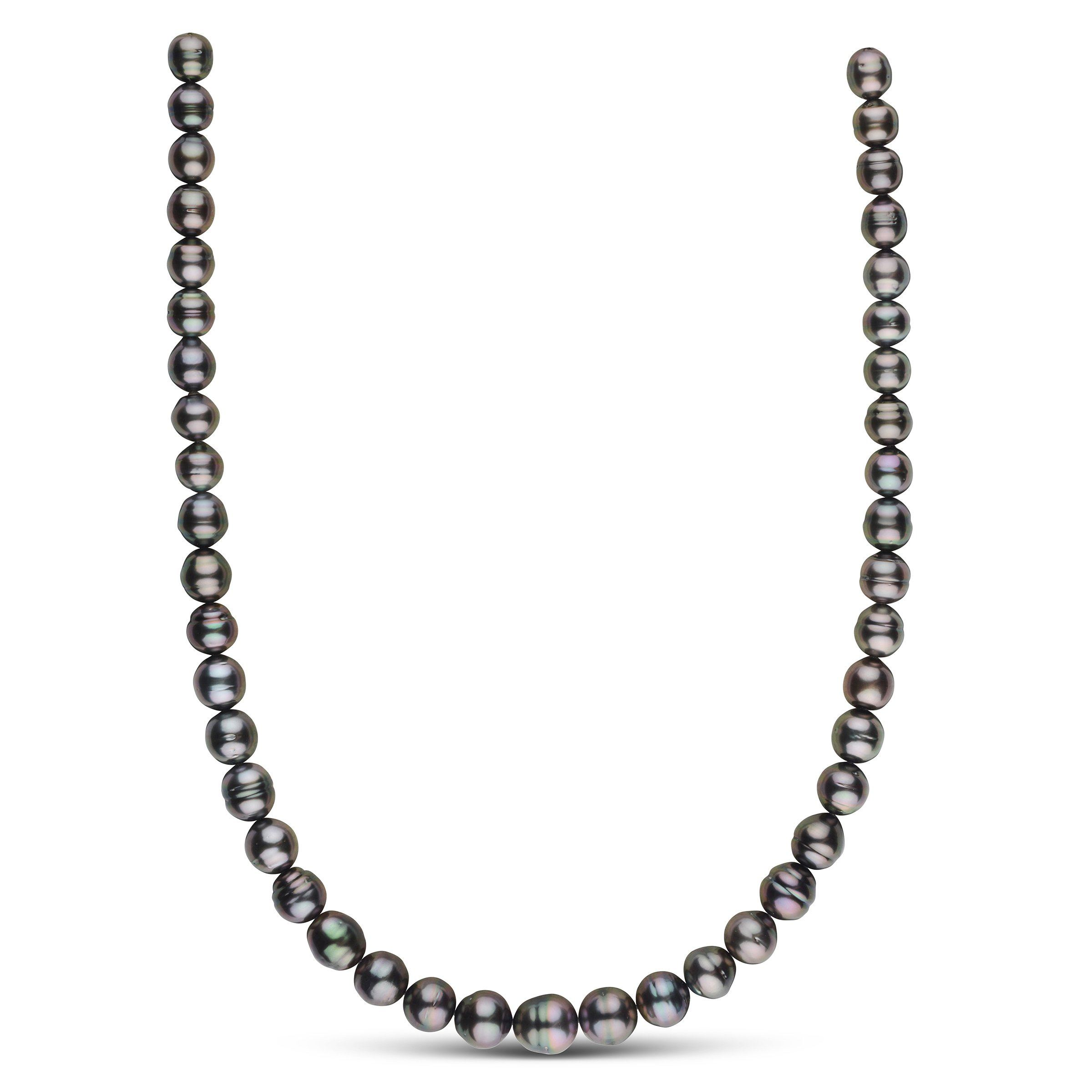 8.0-10.6 mm AA+/AAA Tahitian Baroque Pearl Necklace