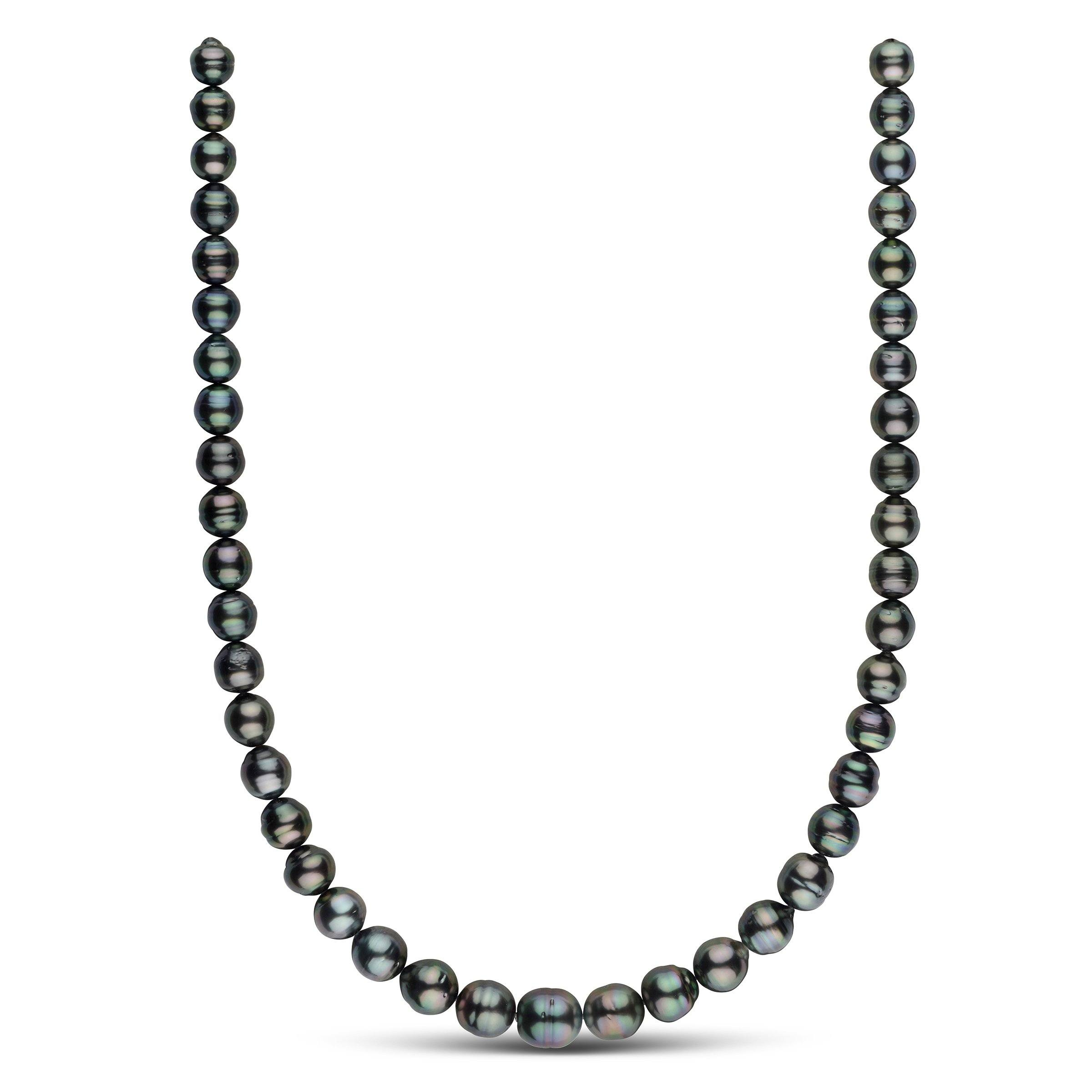 8.1-10.8 mm AA+/AAA Tahitian Baroque Pearl Necklace