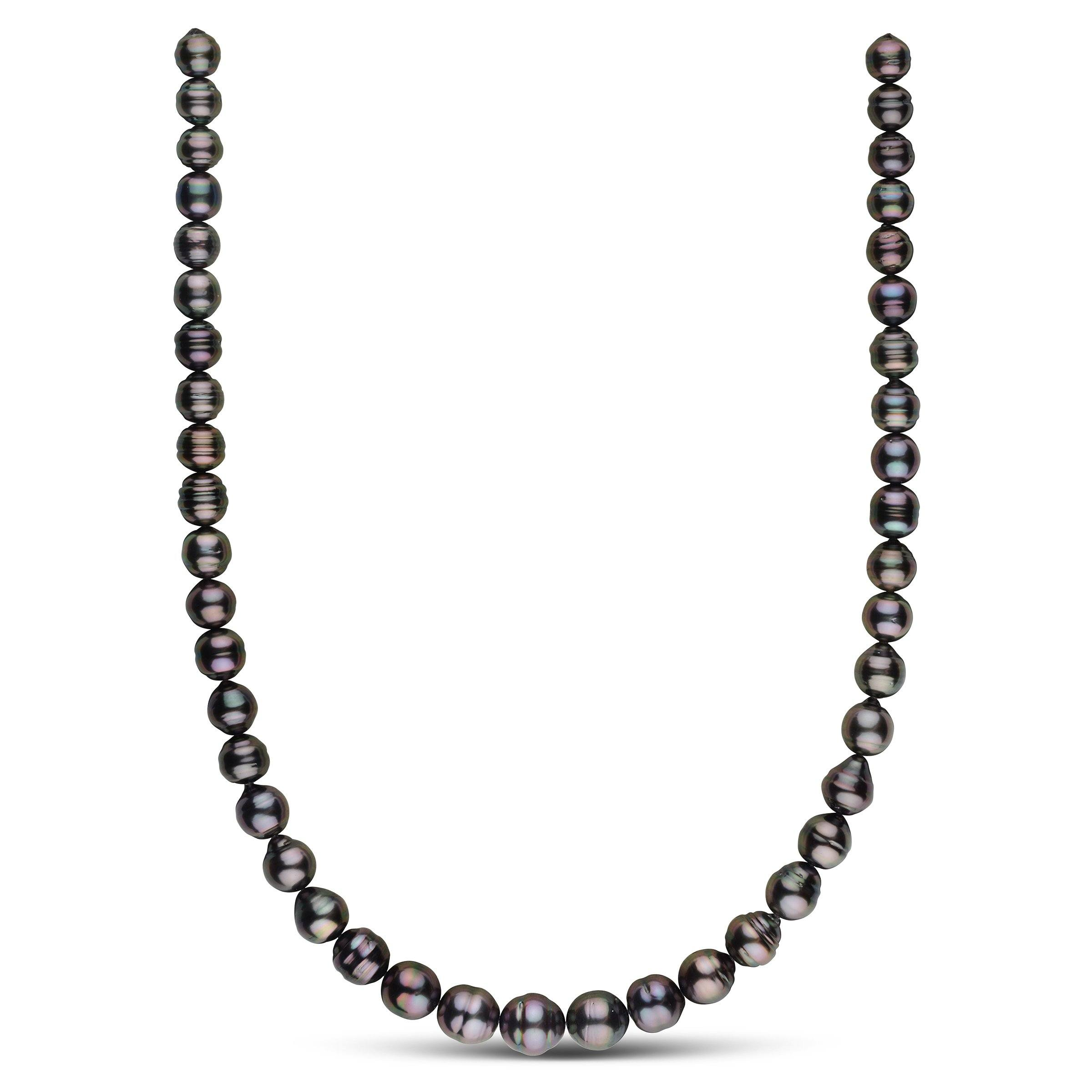 8.0-10.9 mm AA+/AAA Tahitian Baroque Pearl Necklace