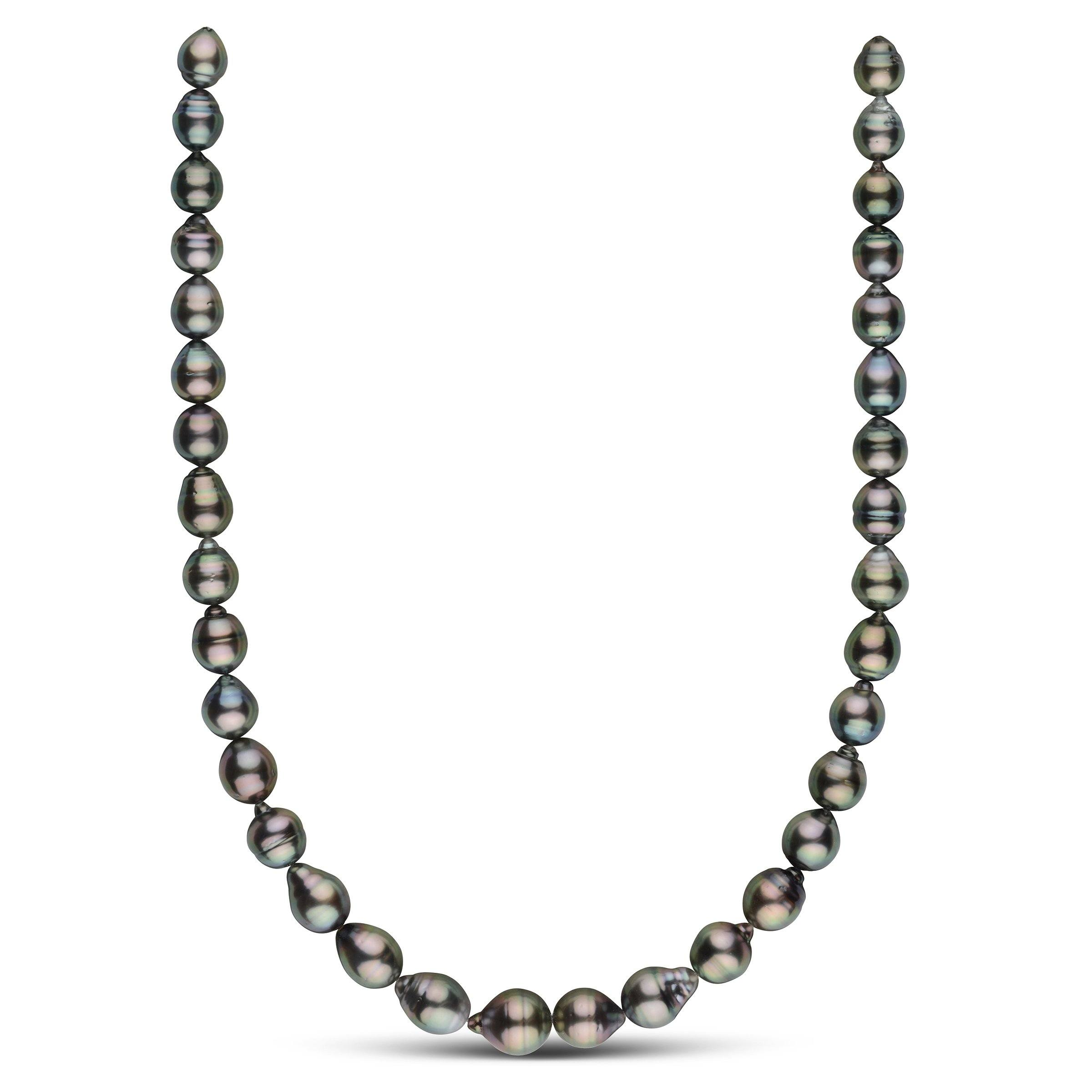 9.0-11.9 mm AA+/AAA Tahitian Baroque Pearl Necklace