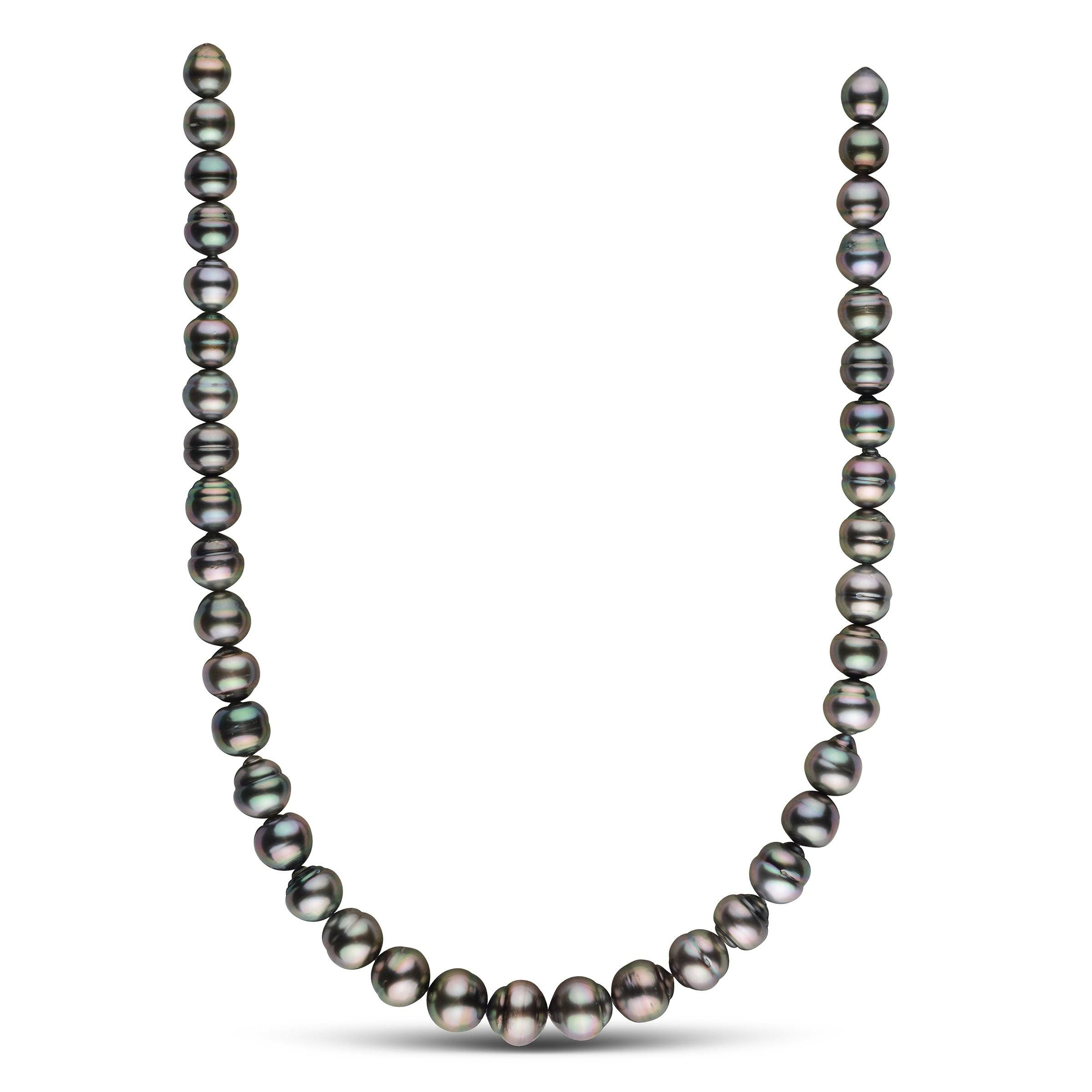 9.0-12.0 mm AA+/AAA Tahitian Baroque Pearl Necklace