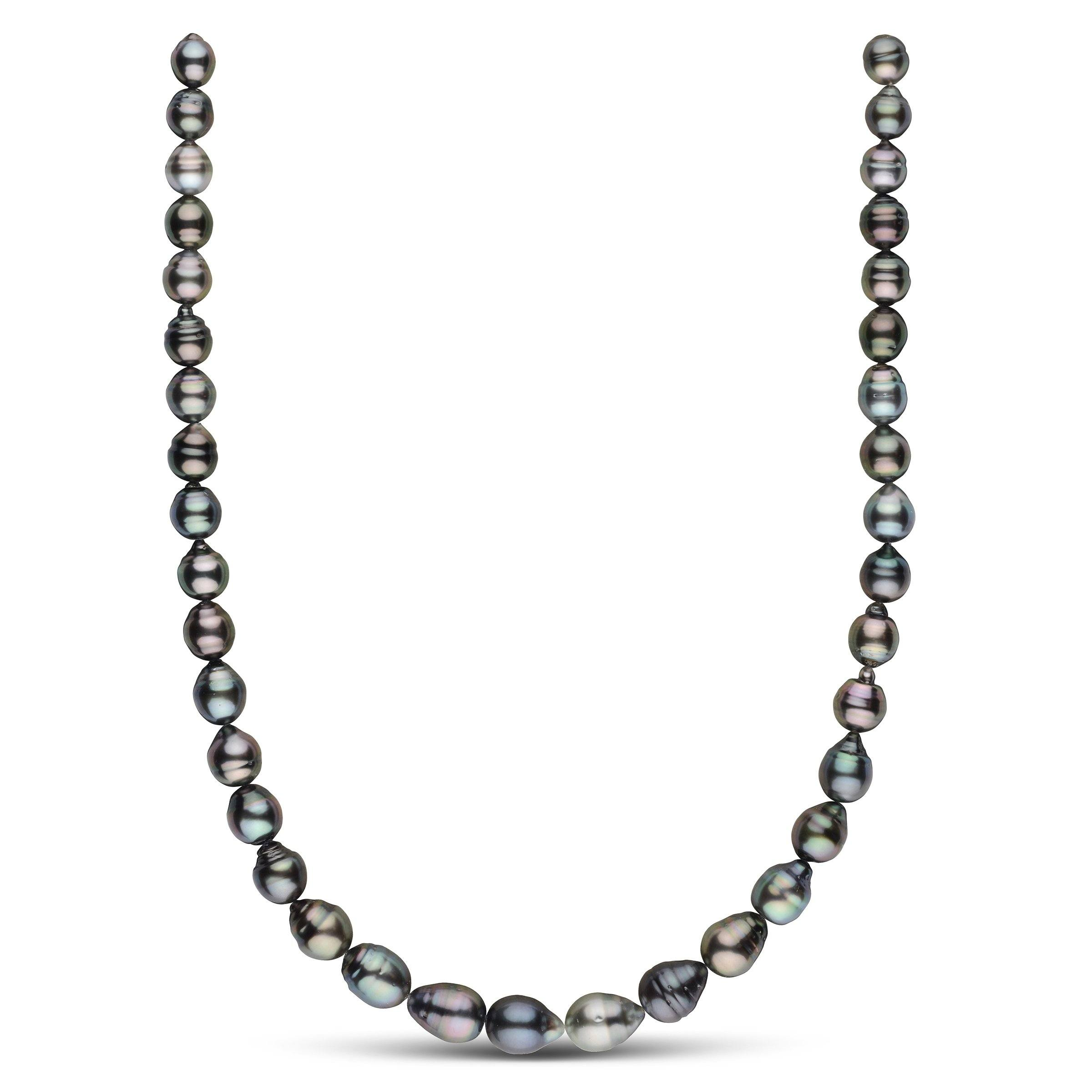 7.9-10.3 mm AA+/AAA Tahitian Baroque Pearl Necklace