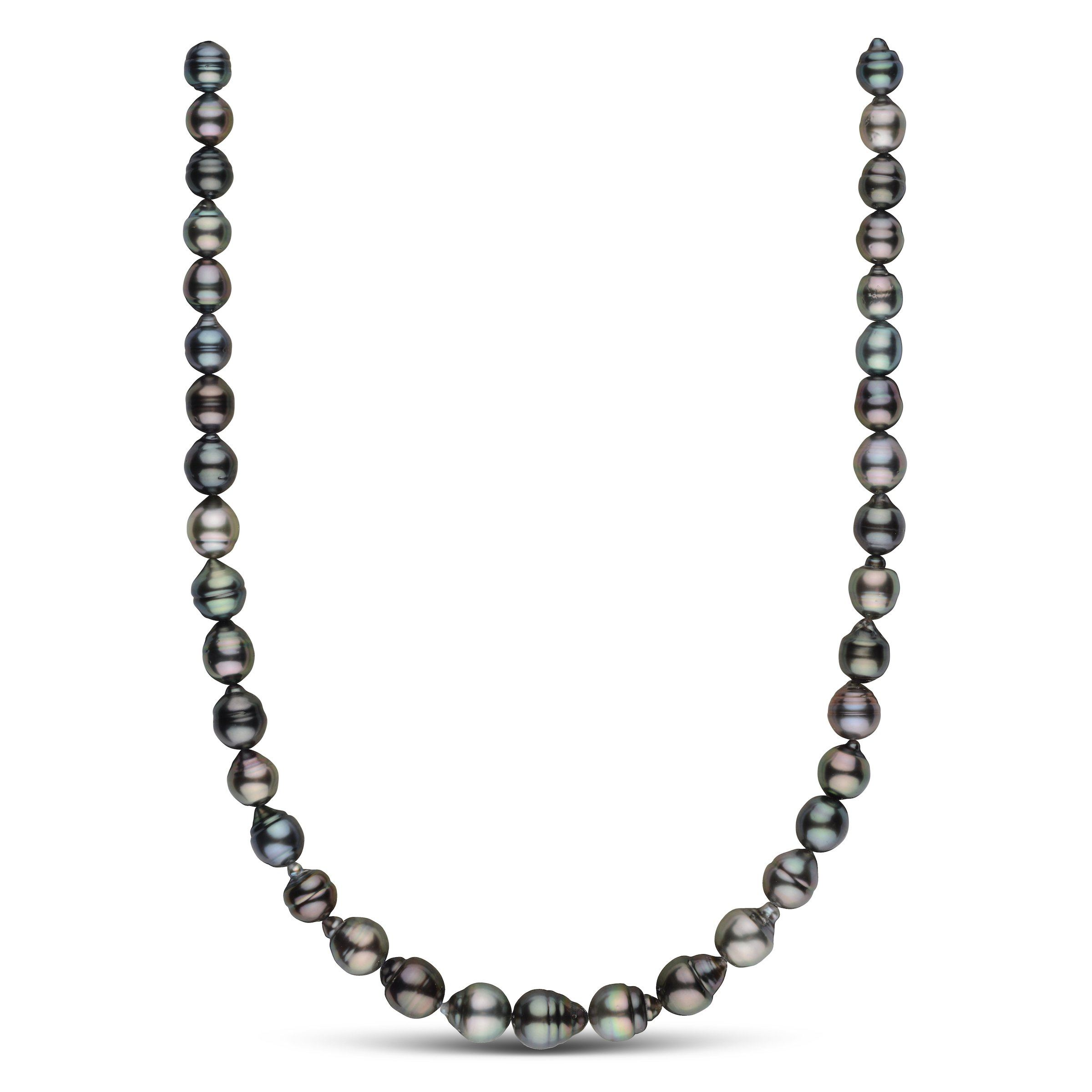8.7-10.9 mm AAA Tahitian Baroque Pearl Necklace