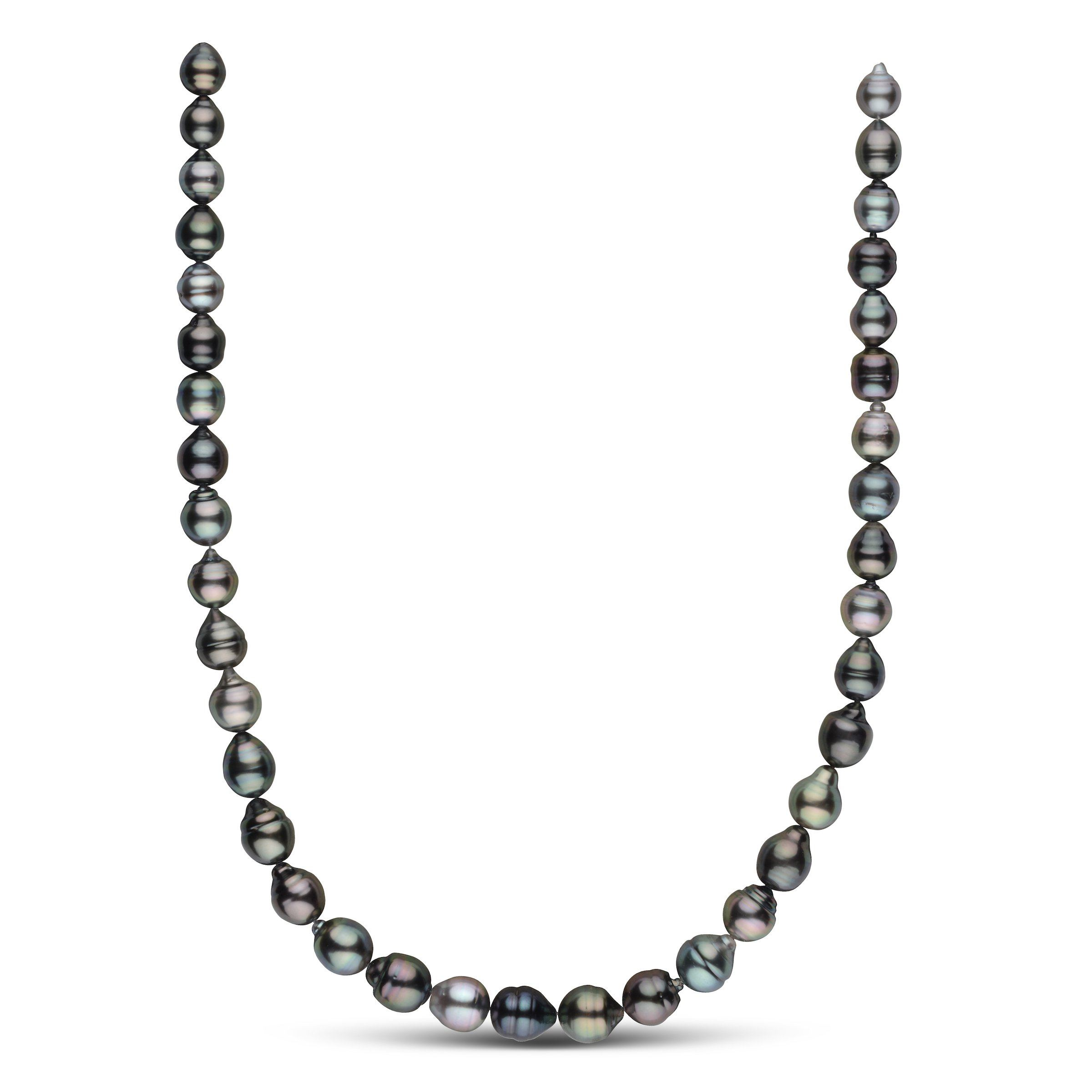 8.1-10.4 mm AAA Tahitian Baroque Pearl Necklace