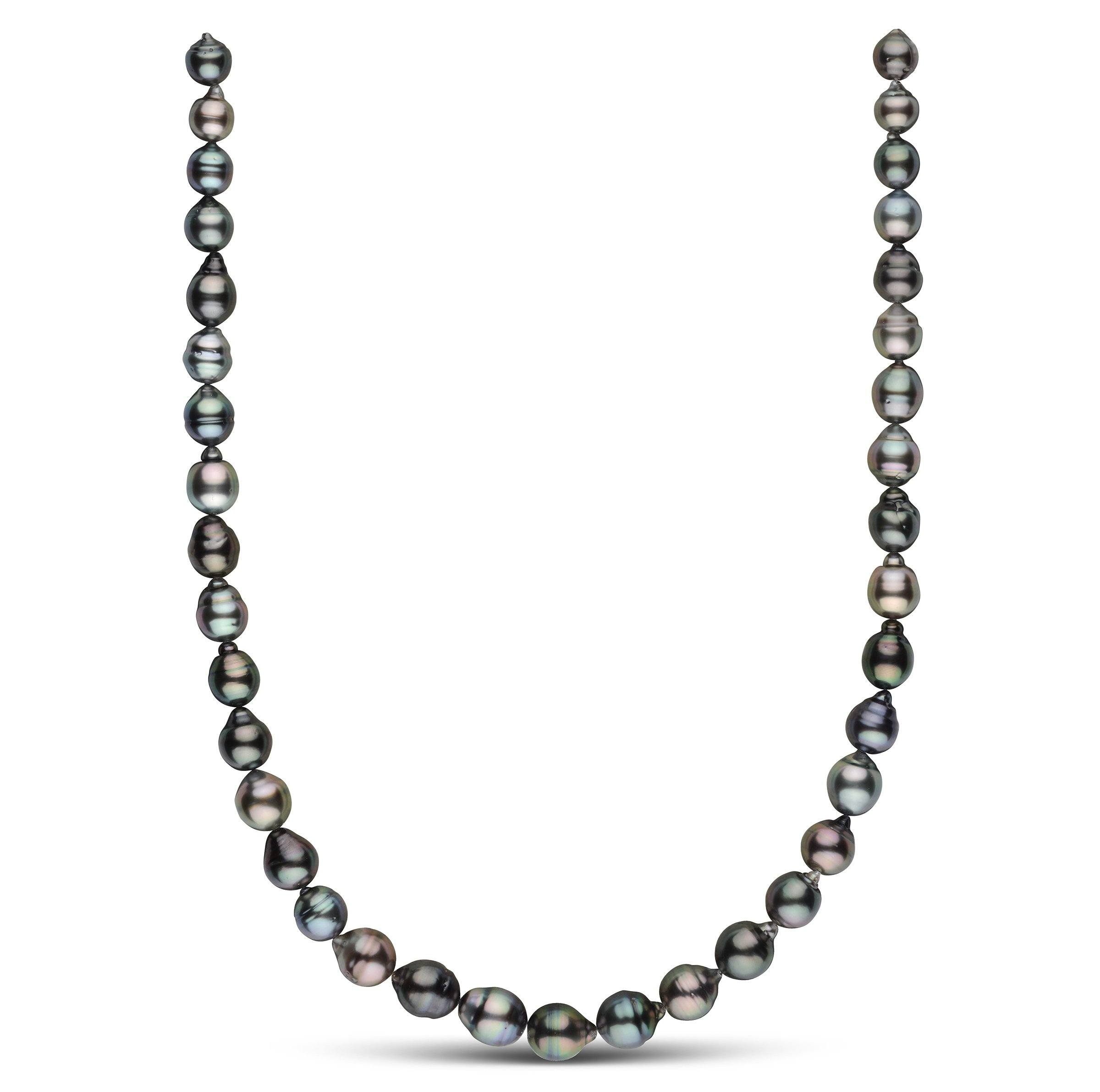 8.1-10.3 mm AAA Tahitian Baroque Pearl Necklace
