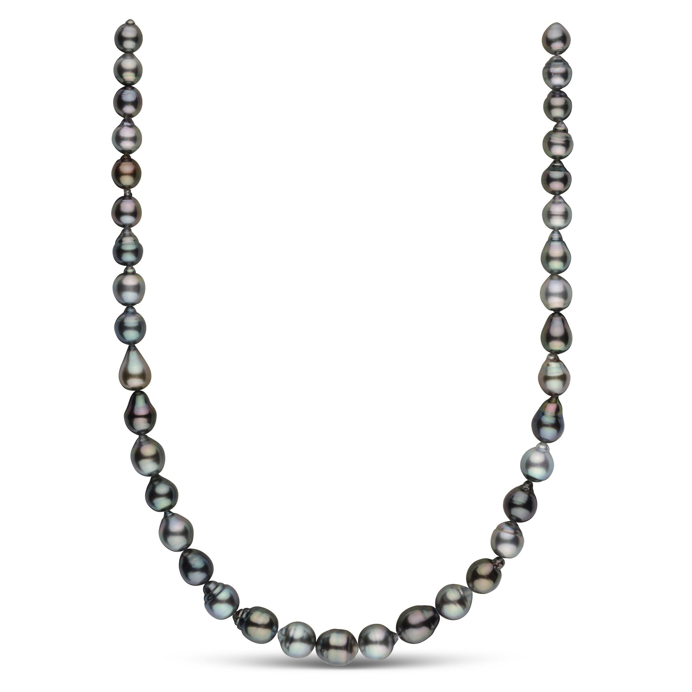 8.1-10.2 mm AAA Tahitian Baroque Pearl Necklace
