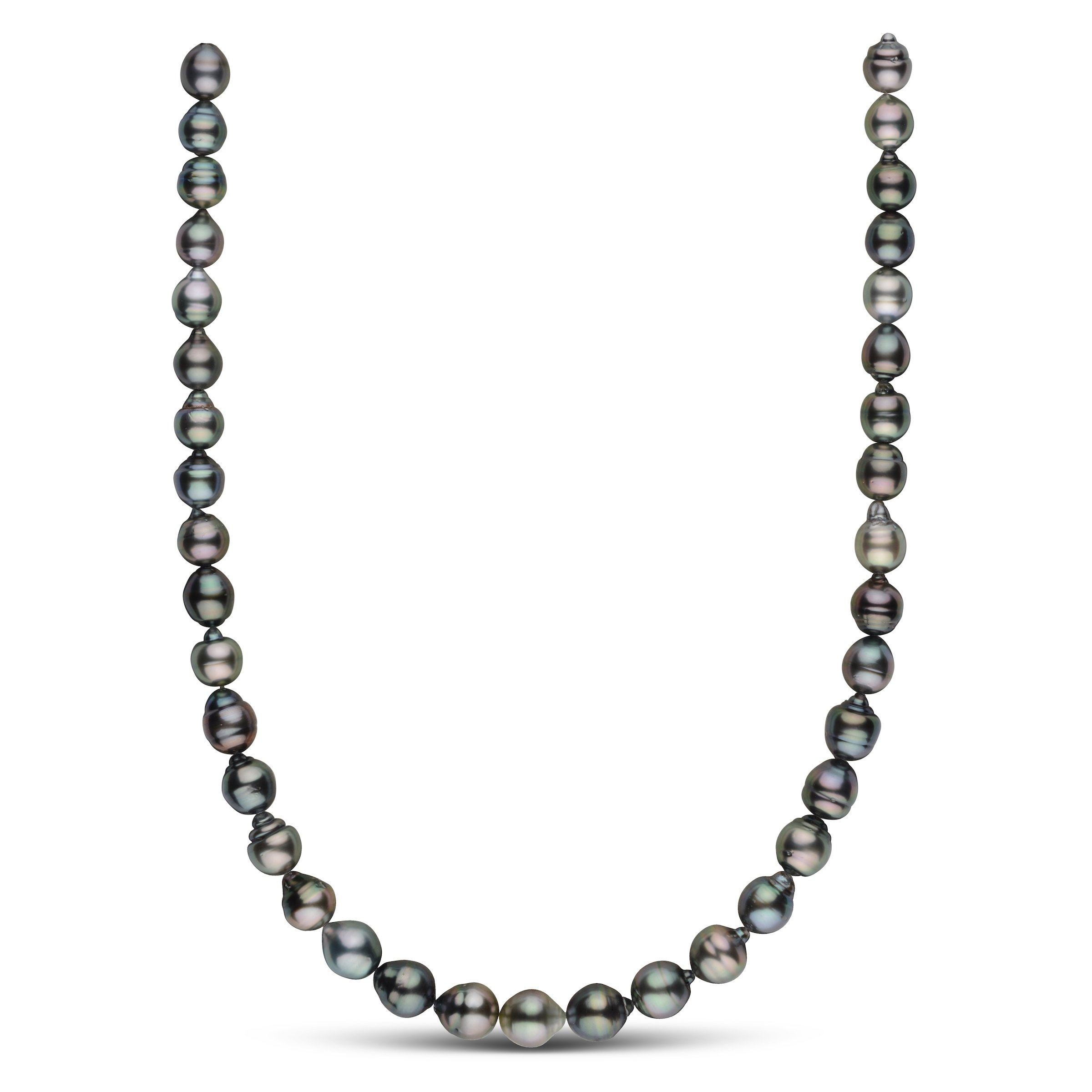 8.6-10.2 mm AAA Tahitian Baroque Pearl Necklace