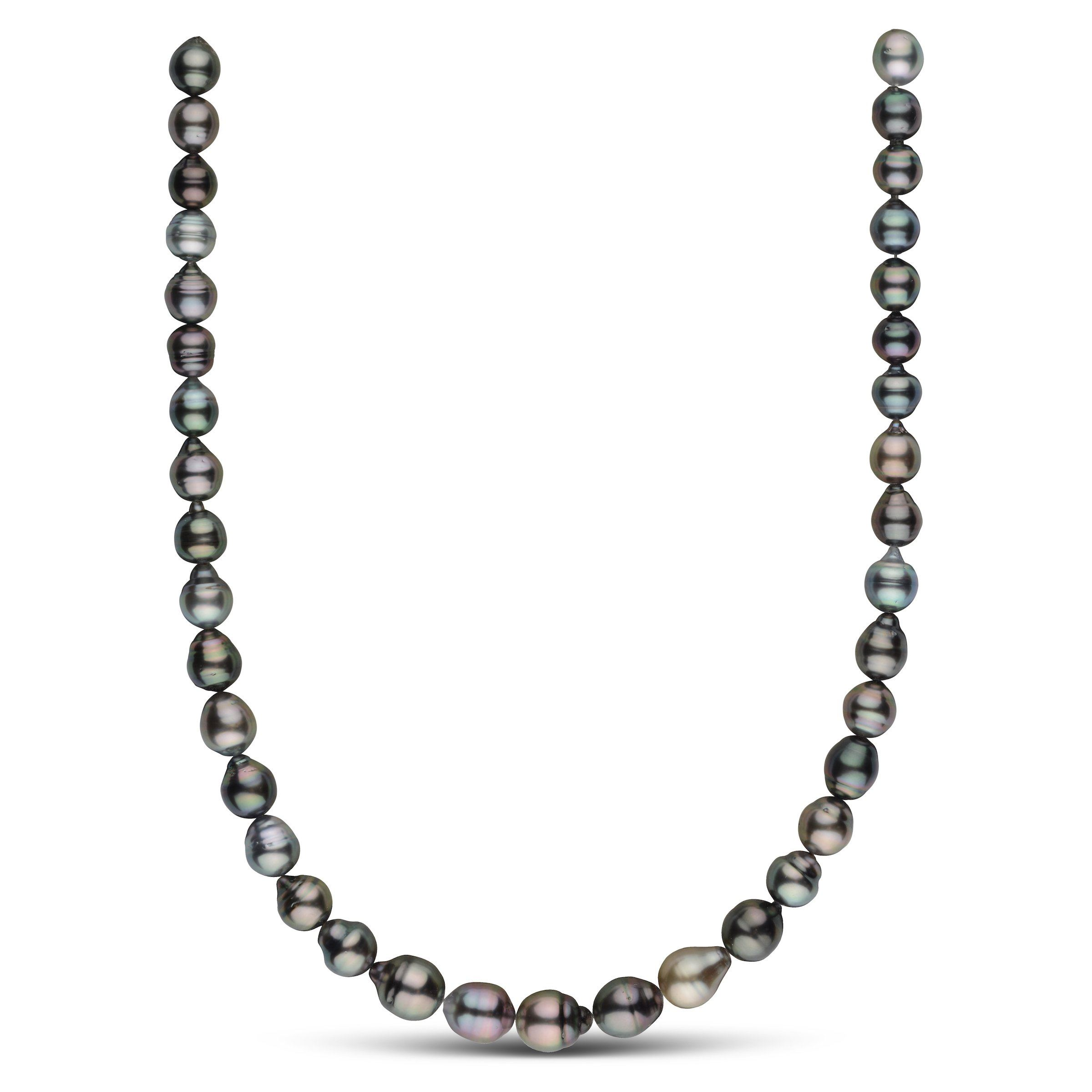 8.6-10.7 mm AA+/AAA Tahitian Baroque Pearl Necklace