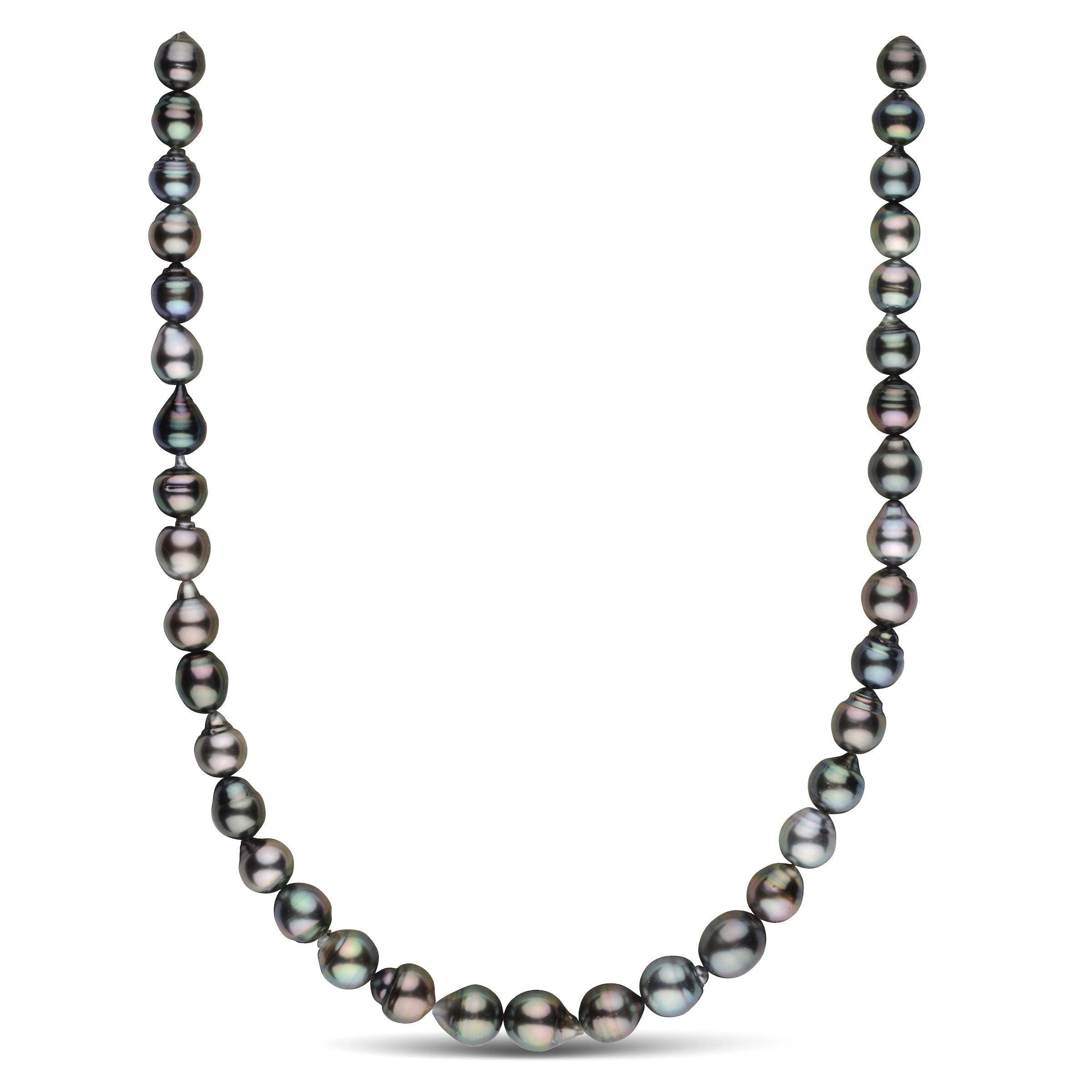 8.4-10.4 mm AAA Tahitian Baroque Pearl Necklace