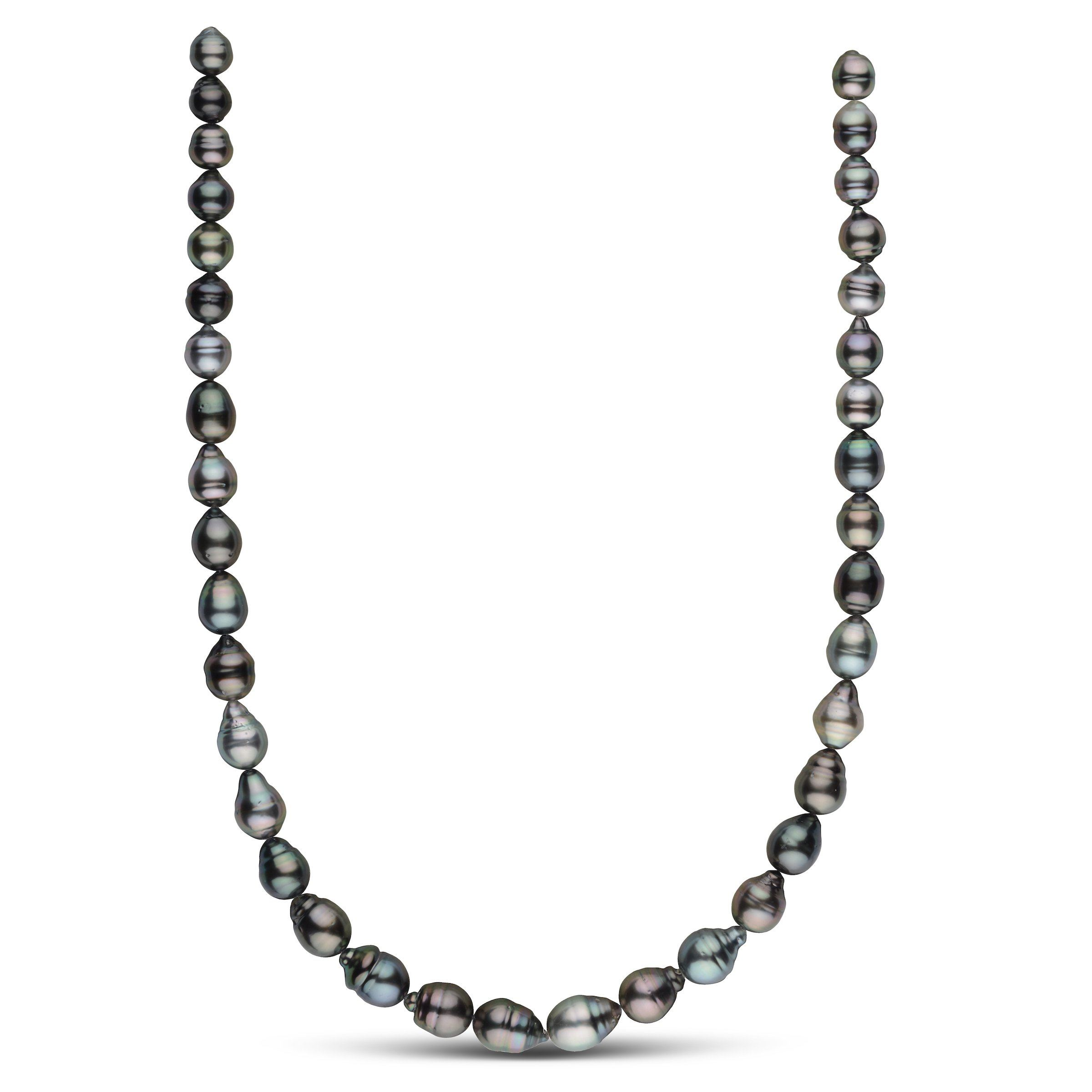 8.1-10.3 mm AA+/AAA Tahitian Baroque Pearl Necklace