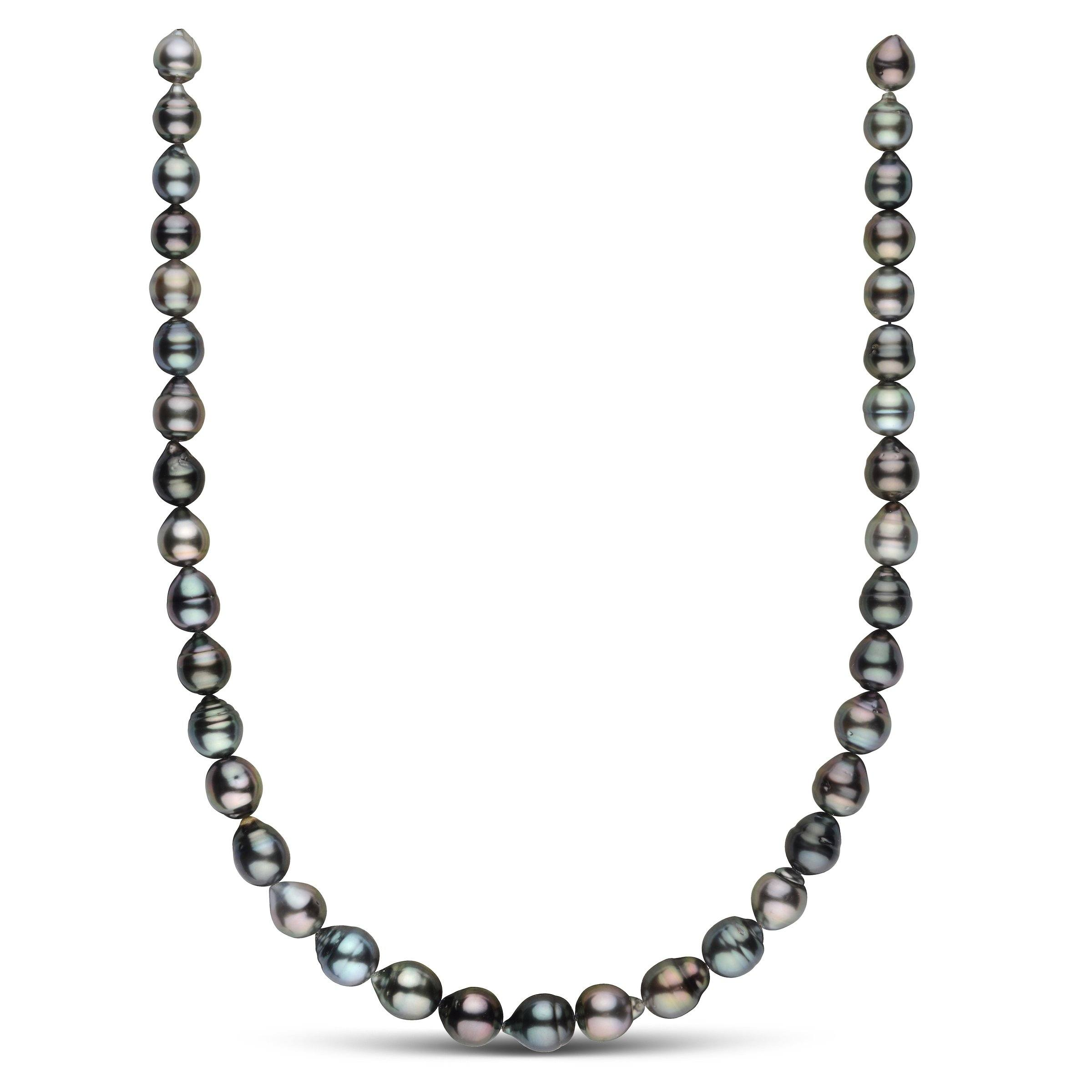 8.2-10.3 mm AA+/AAA Tahitian Baroque Pearl Necklace