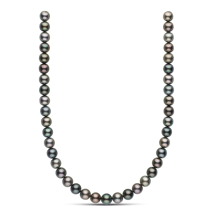 18-inch 10.0-10.8 mm AAA Round Tahitian Pearl Necklace