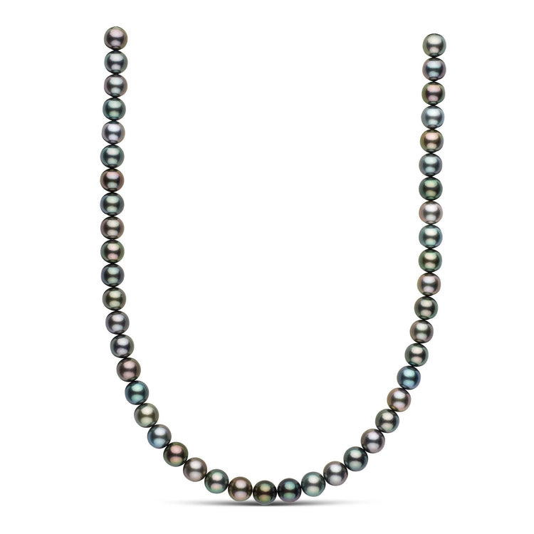 18-inch 9.1-9.3 mm AAA Round Tahitian Pearl Necklace