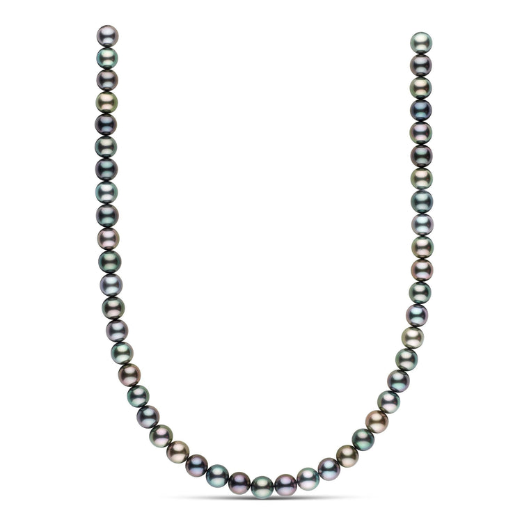 18-inch 8.5-8.8 mm AAA Round Tahitian Pearl Necklace