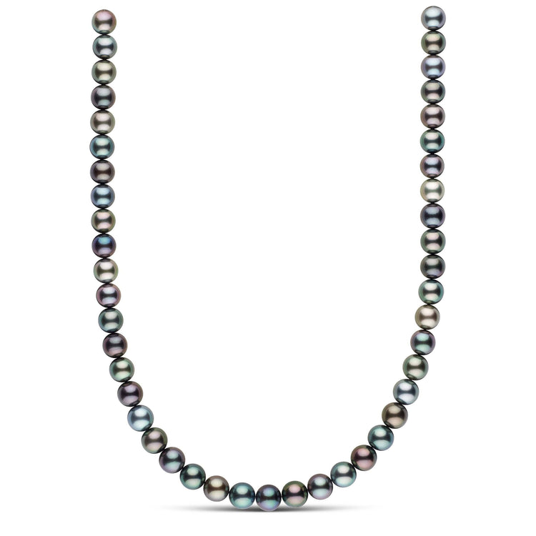 18-inch 9.2-9.7 mm AAA Round Tahitian Pearl Necklace