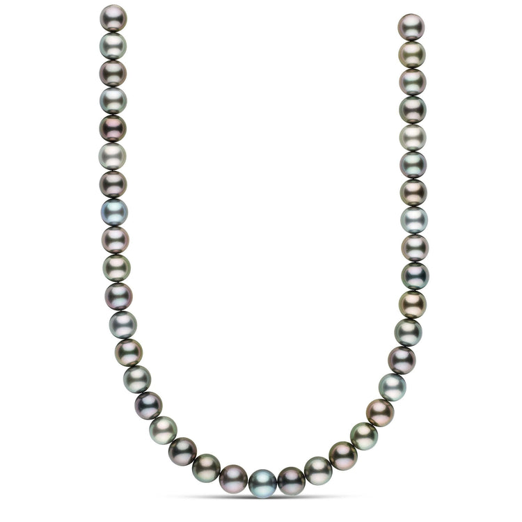 18-inch 11.0-11.6 mm AAA Round Tahitian Pearl Necklace