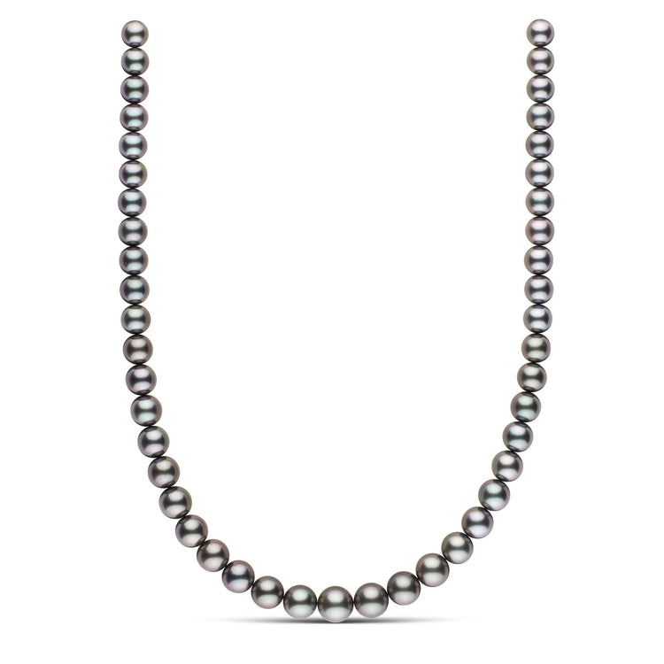 18-inch 8.3-10.9 mm AAA Round Tahitian Pearl Necklace