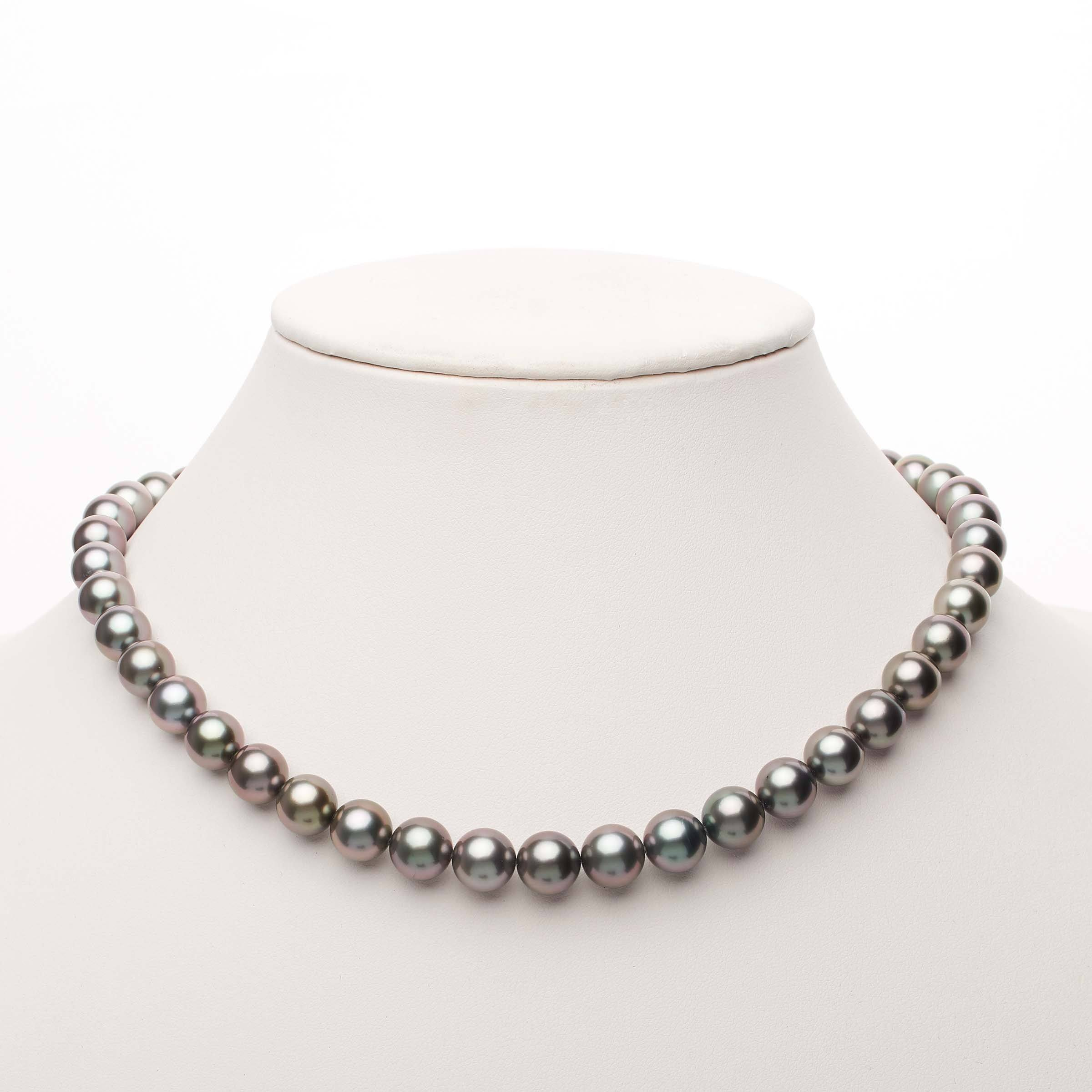 18-inch 8.3-9.8 mm AAA Round Tahitian Pearl Necklace
