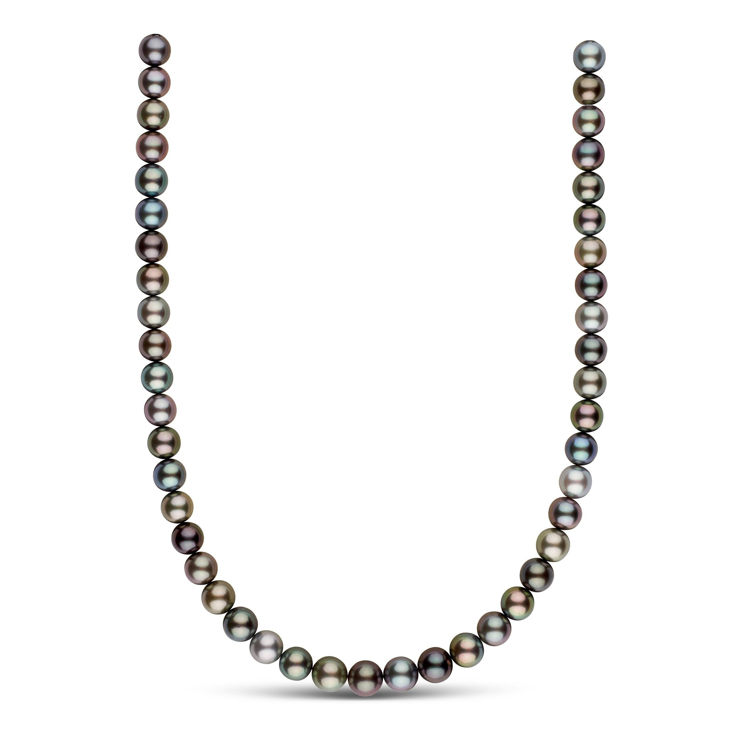 9.0-10.0 mm AA+/AAA Tahitian Round Pearl Necklace
