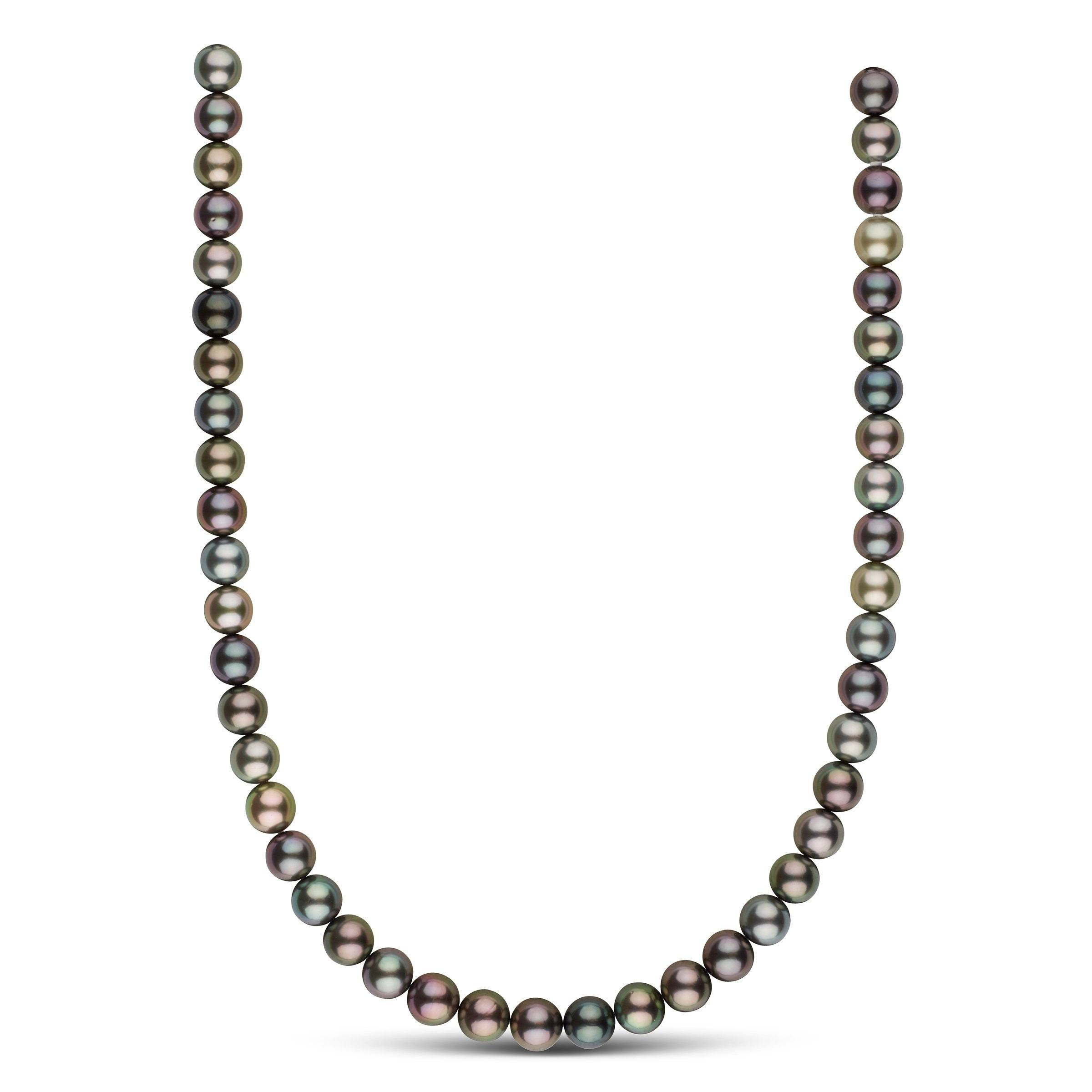 9.0-9.8 mm AA+/AAA Tahitian Round Pearl Necklace