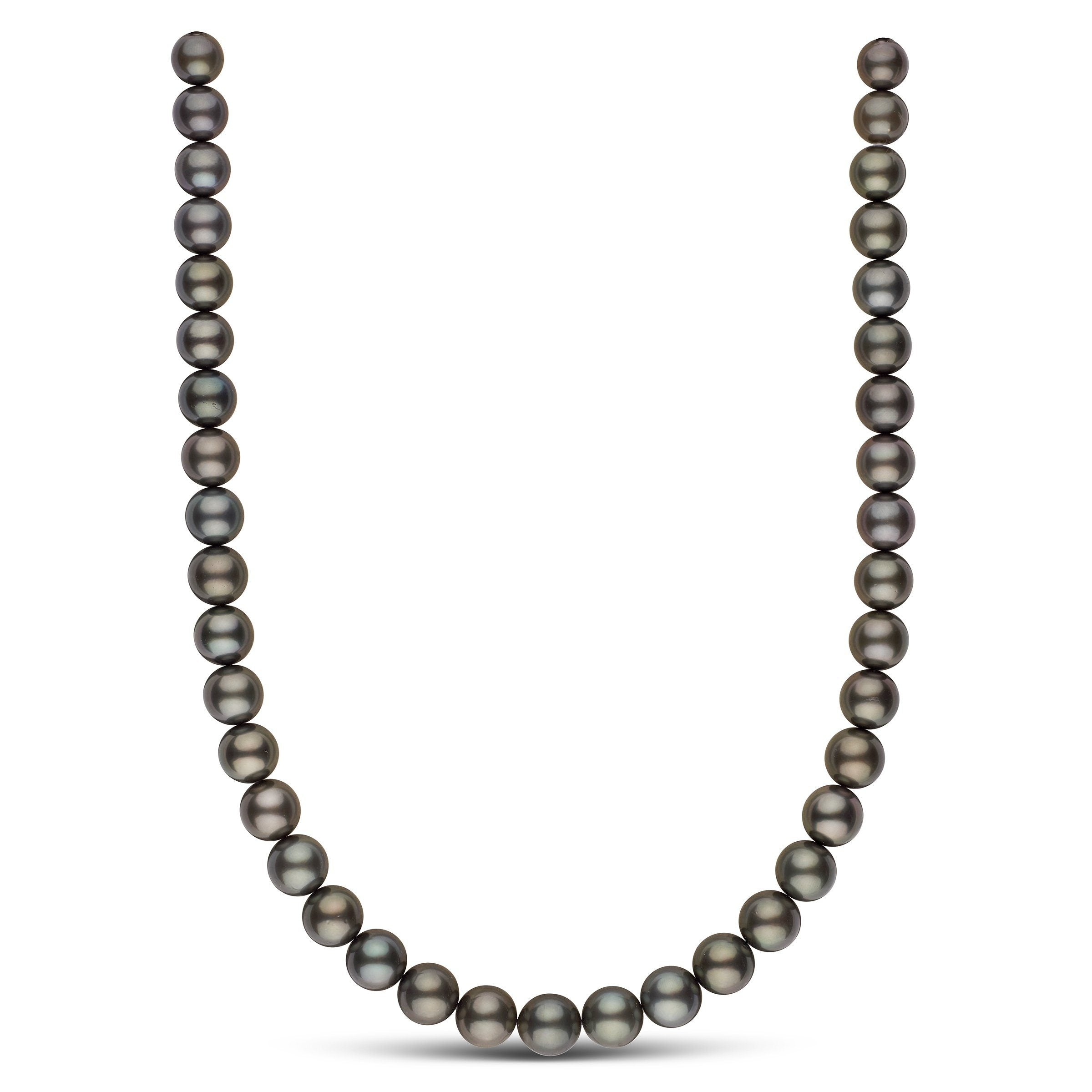 9.2-11.0 mm AAA Tahitian Round Pearl Necklace
