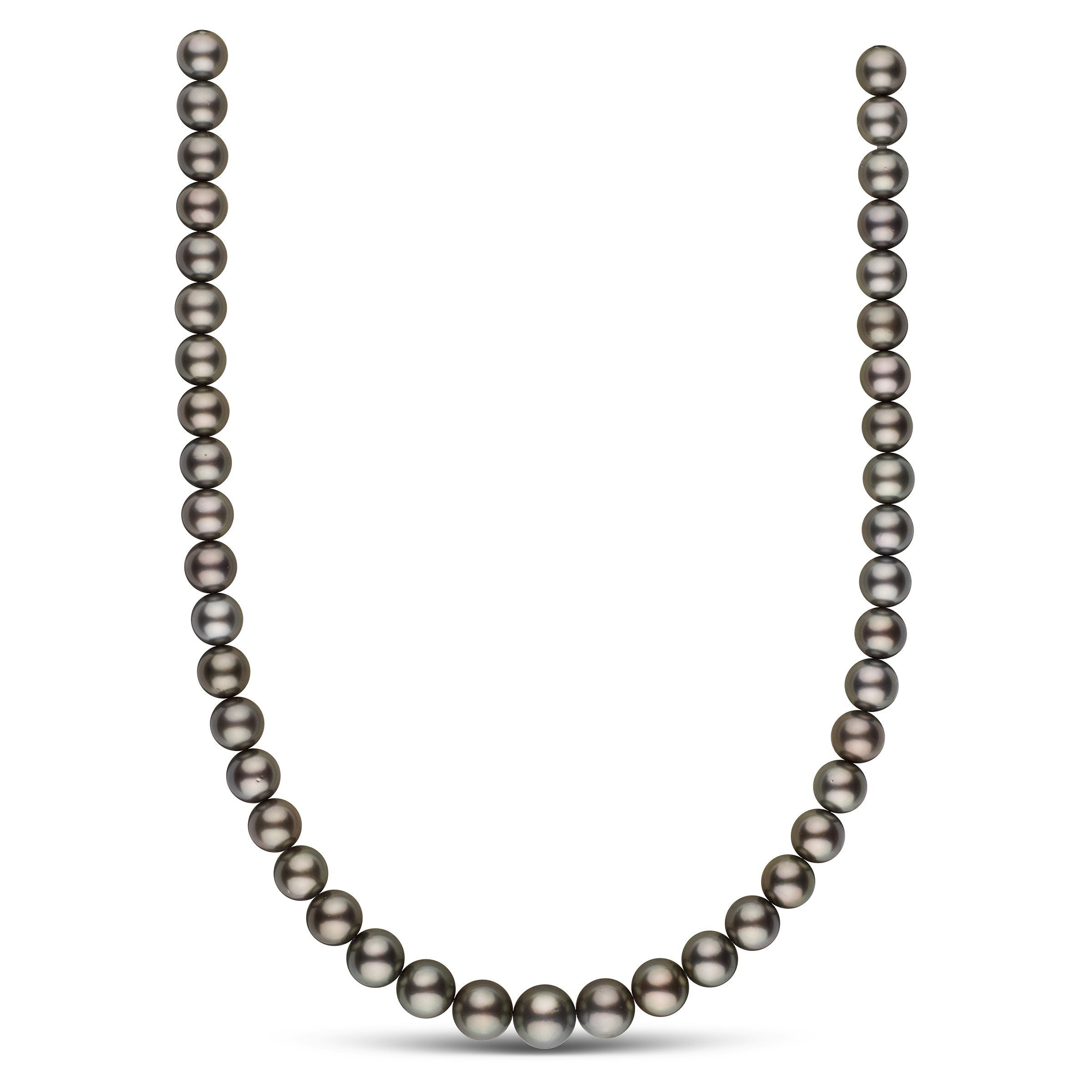 9.0-11.2 mm AA+/AAA Tahitian Round Pearl Necklace