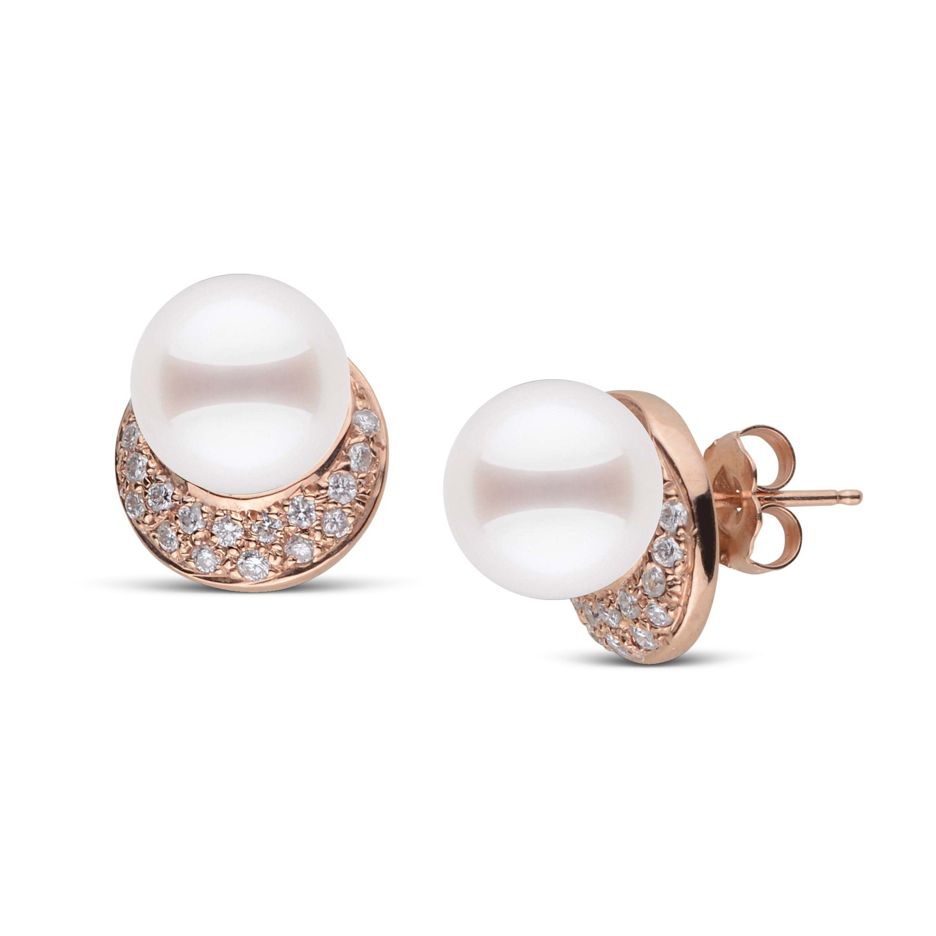 Eclipse Collection Freshadama Pearl and Diamond Earrings