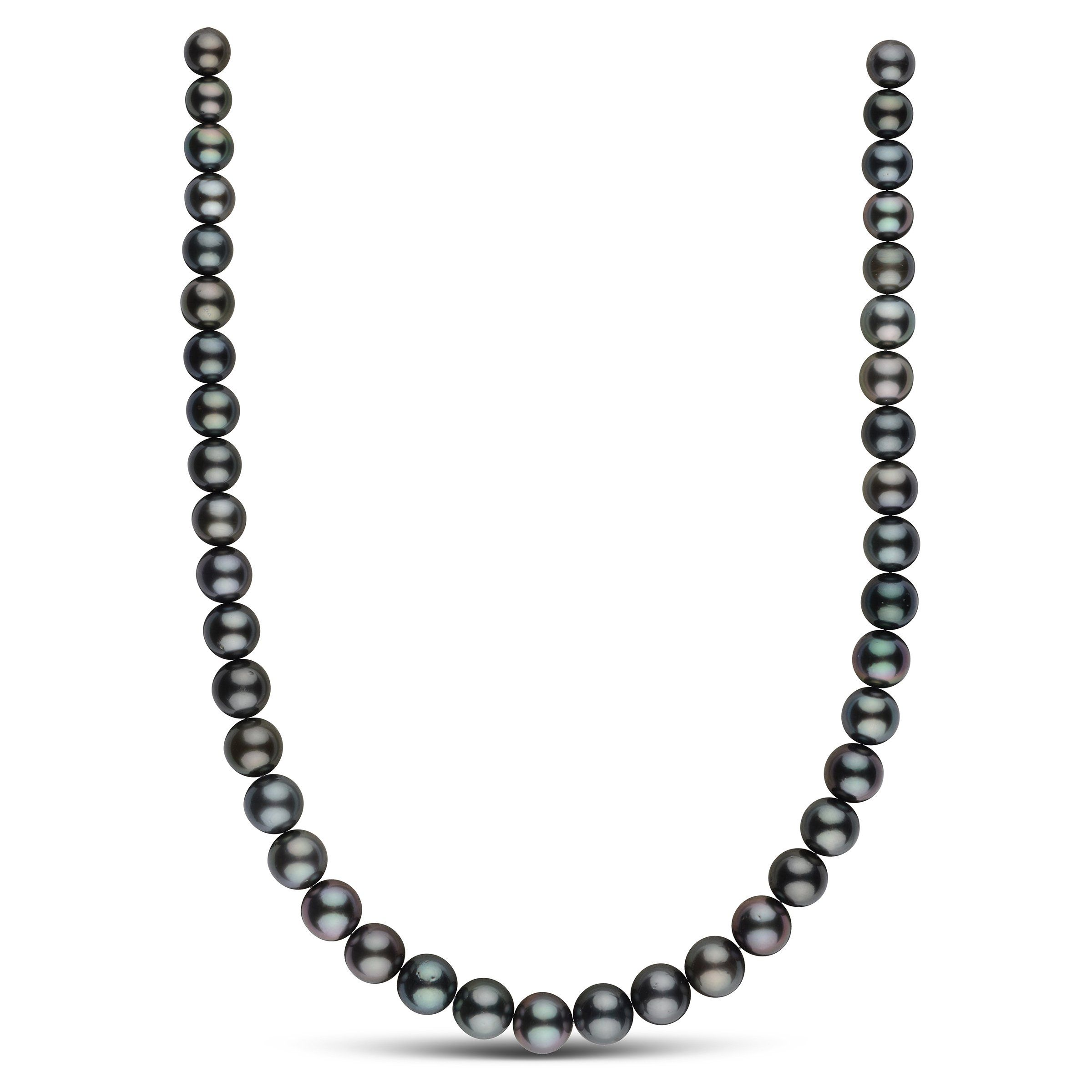 8.4-11.0 mm AA+ Round Tahitian Pearl Necklace
