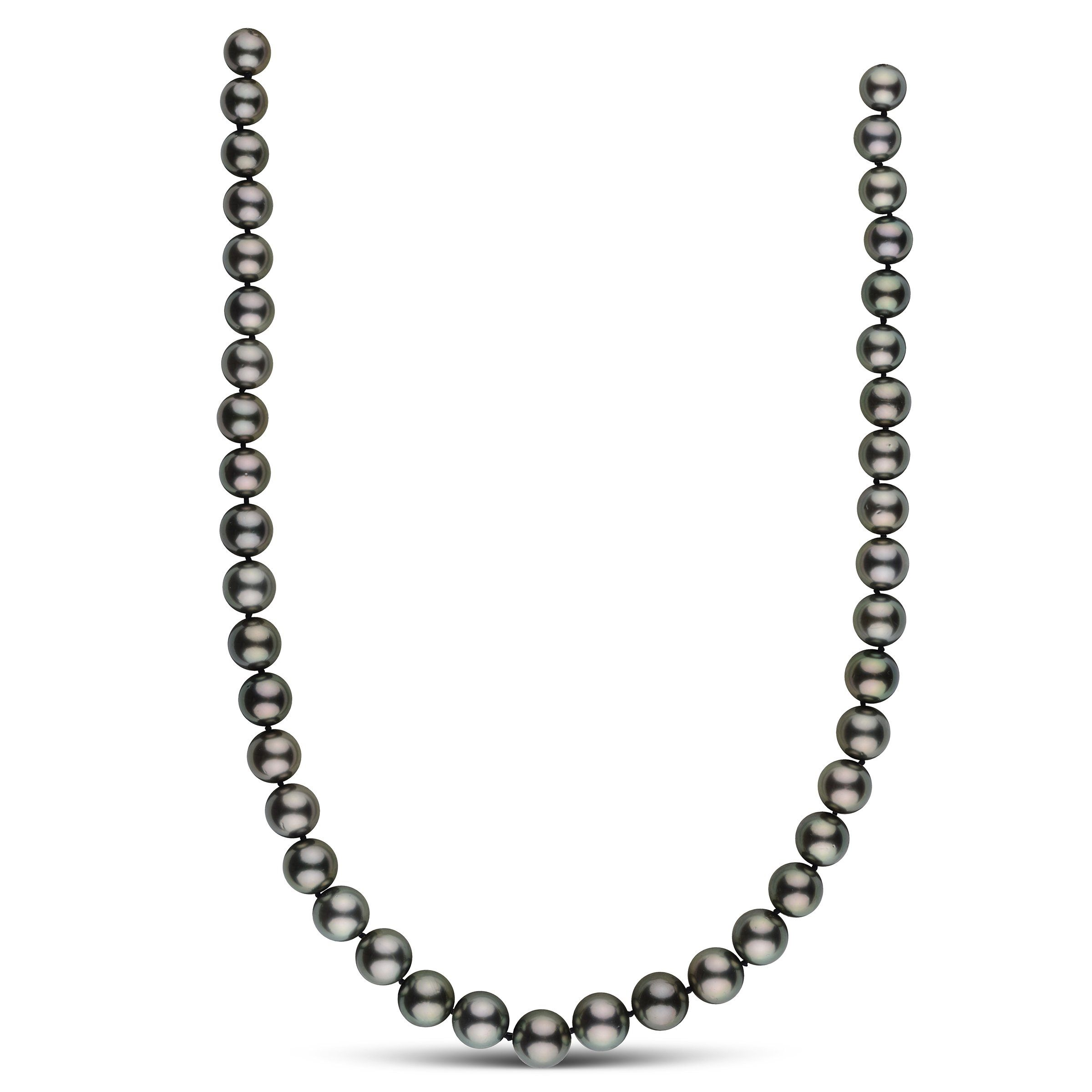 9.0-11.2 mm AA+/AAA Round Tahitian Pearl Necklace