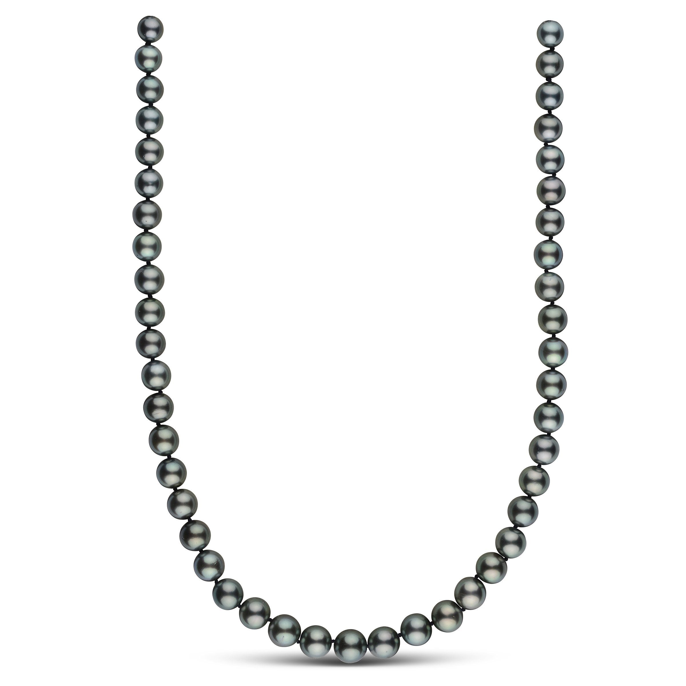 8.2-10.2 mm AA+/AAA Round Tahitian Pearl Necklace