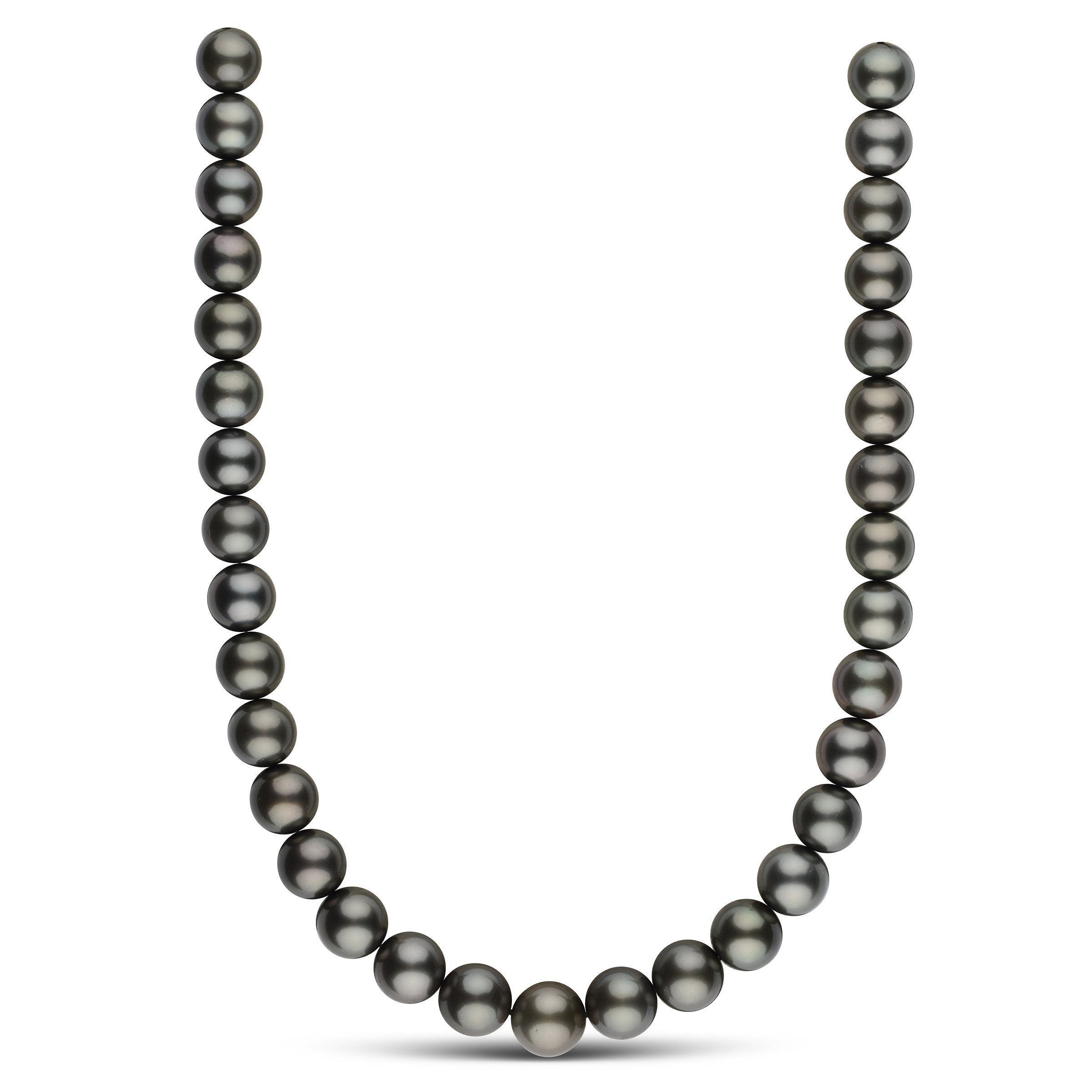 12.0-13.7 mm AA+/AAA Round Tahitian Pearl Necklace