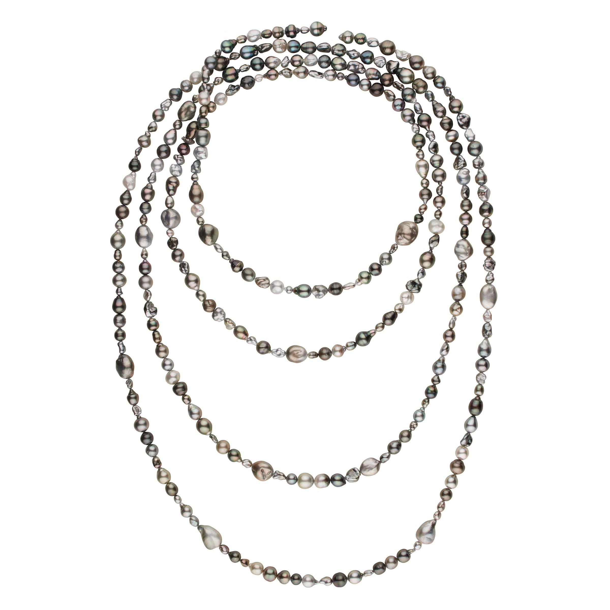 Andy Müller Tahitian Baroque Rope - 297 pearls