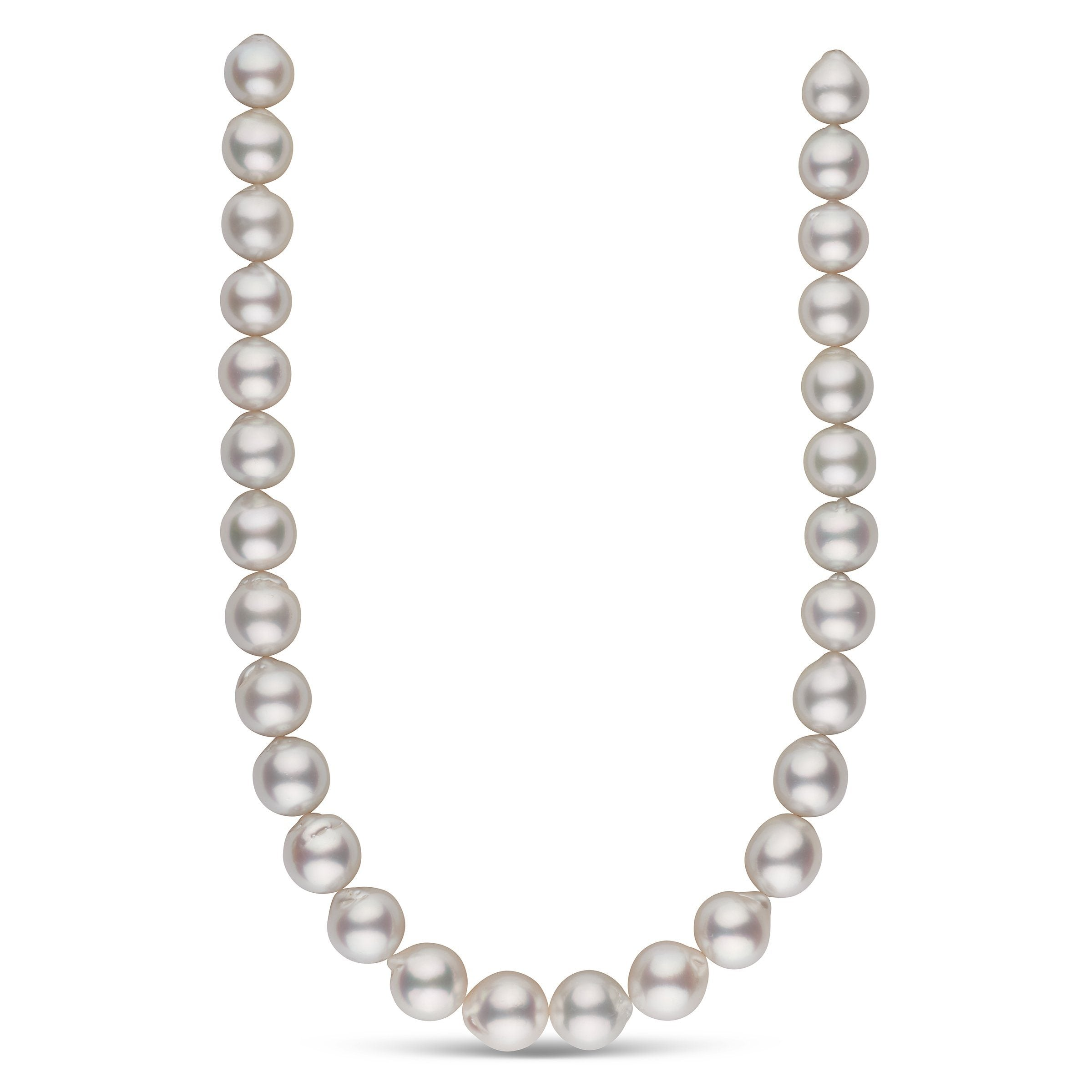 The O Sole Mio White South Sea Pearl Necklace