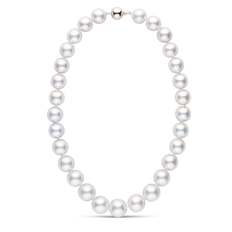 18-inch AA+ 13.0-16.0 mm White South Sea Round Pearl Necklace