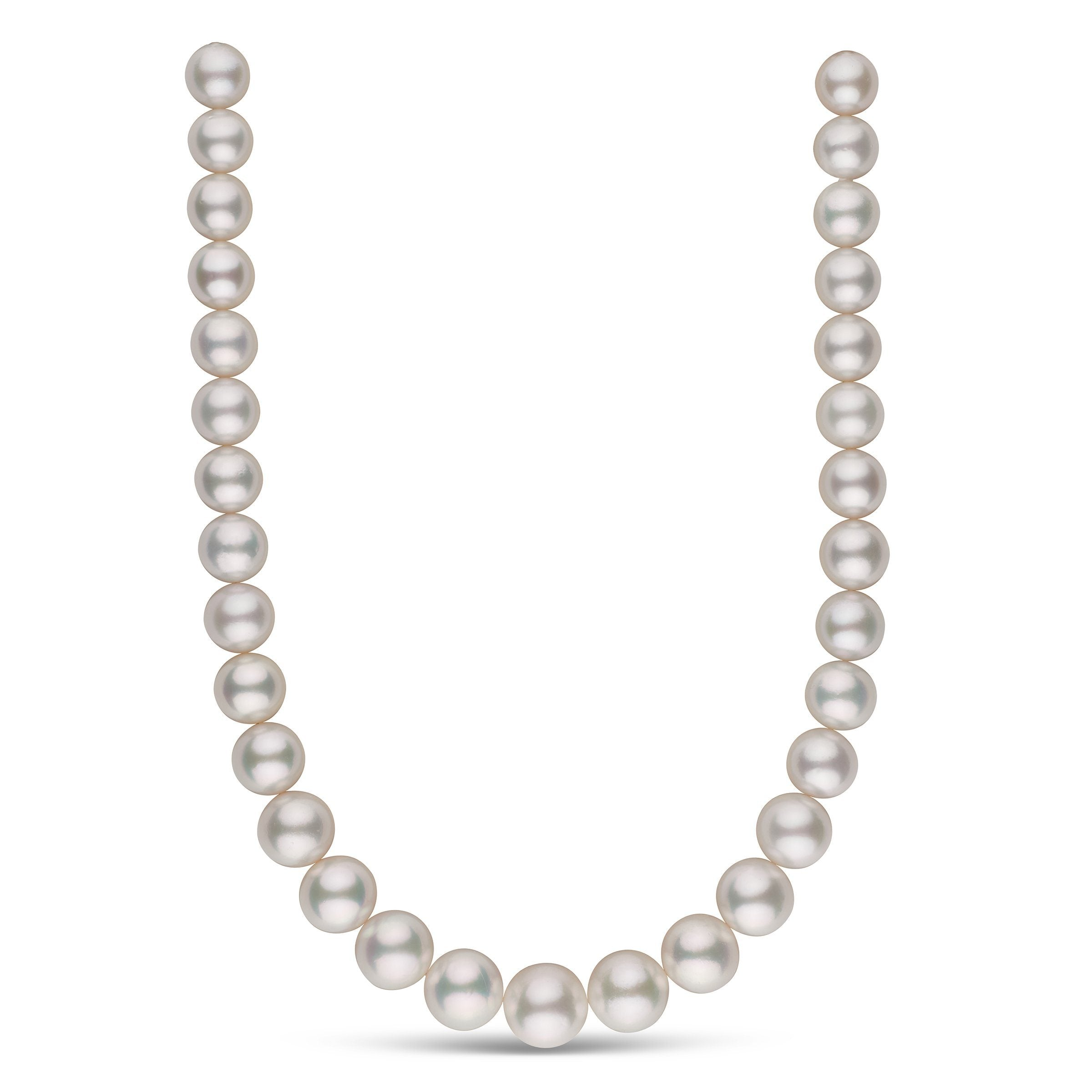 The Crescendo White South Sea Pearl Necklace