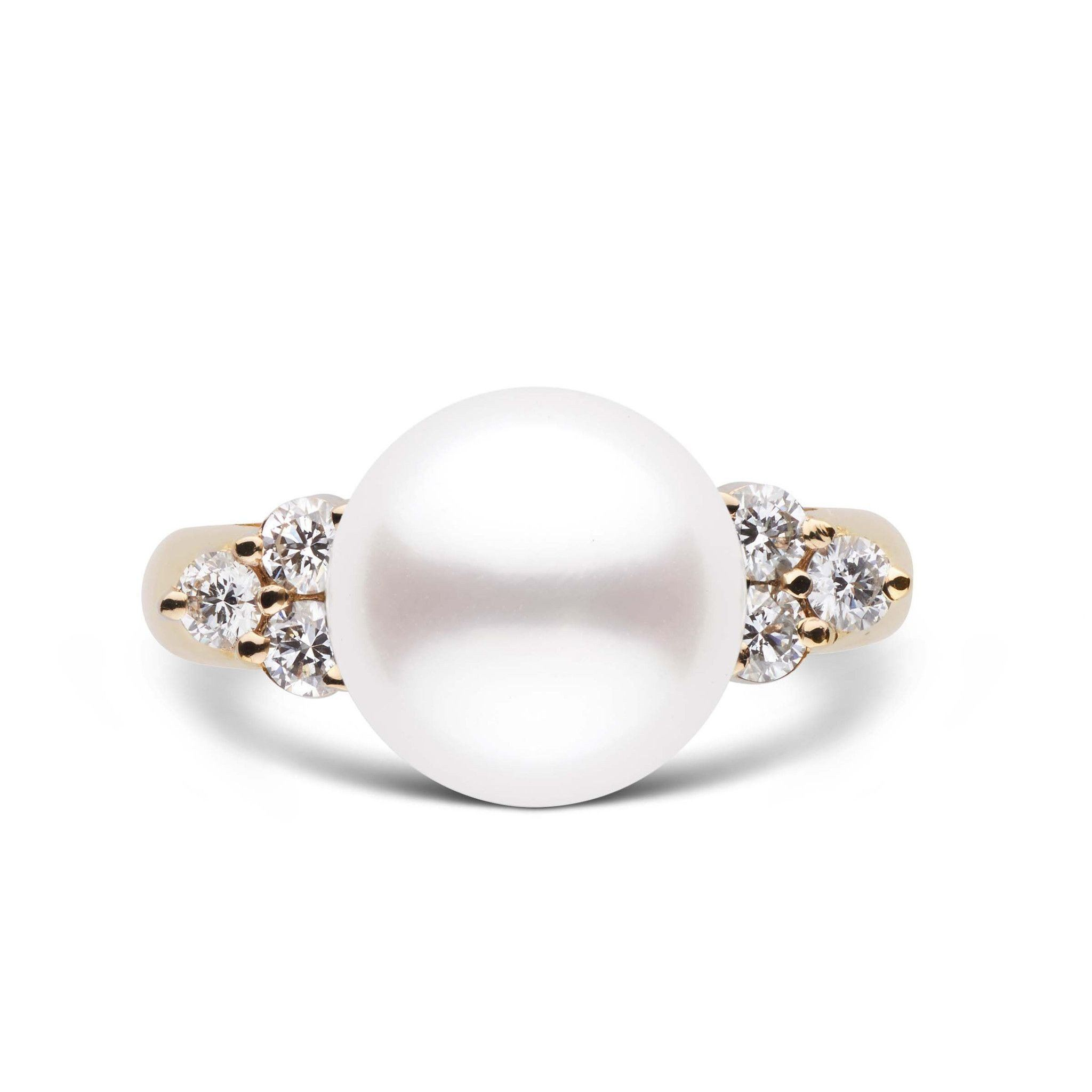Always Collection White 10.0-11.0 mm South Sea Pearl Ring