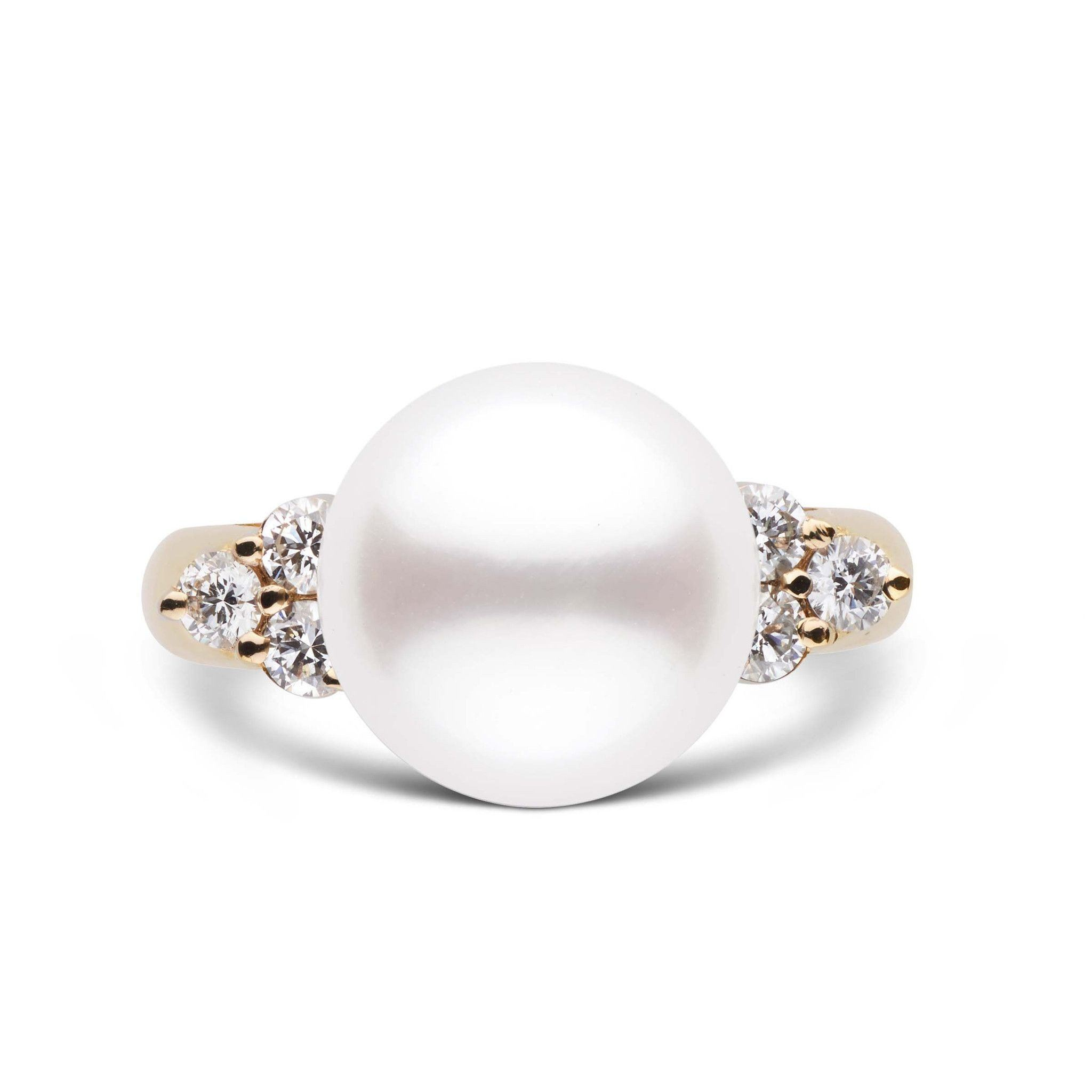 Always Collection White 11.0-12.0 mm South Sea Pearl Ring