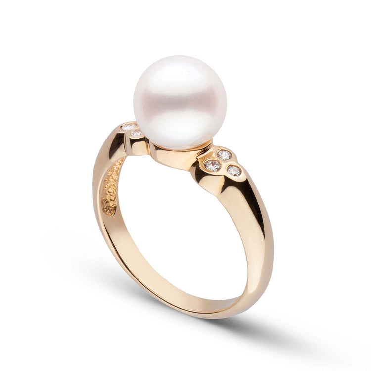 Amour Collection Freshadama Pearl and Diamond Ring