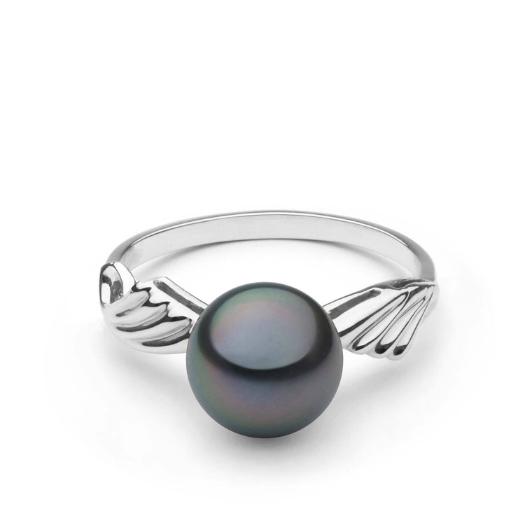 Ascend Collection Tahitian Pearl Ring in Sterling Silver